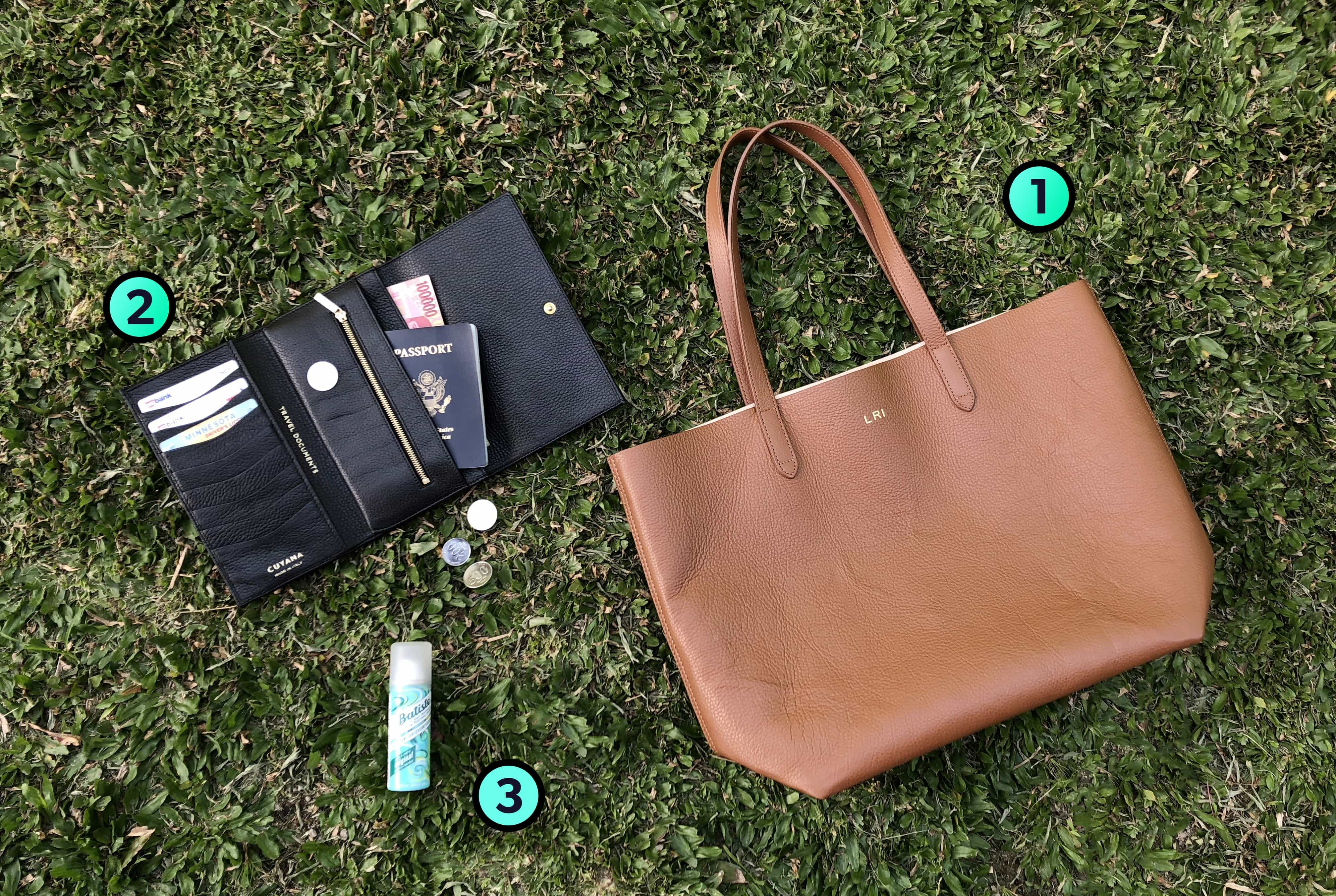 Laura Ivanova's Trusty Three Travel Items