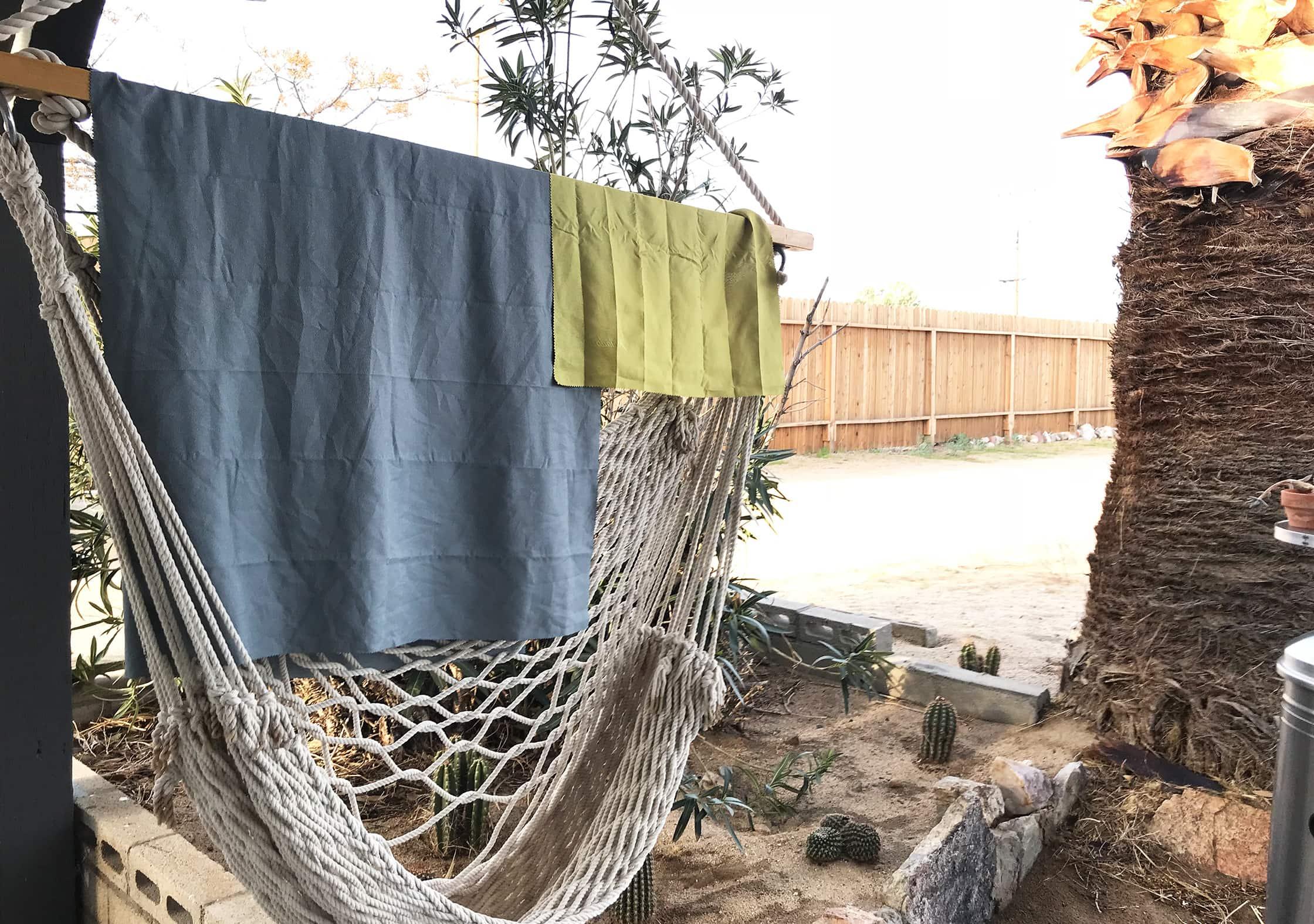 Matador NanoDry Towels On Hammock