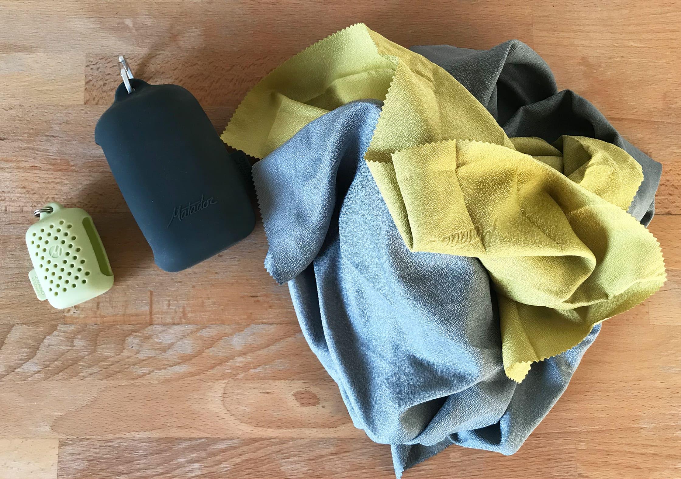 Matador NanoDry Towels Unpacked