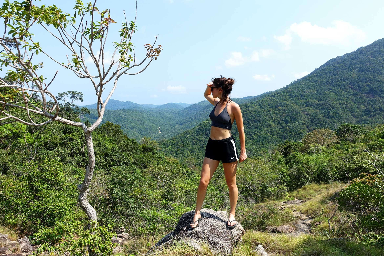 Rebecca Liebert in Ko Pha Ngan, Vietnam