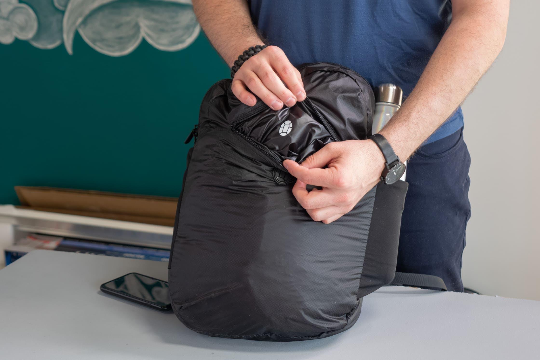 Tortuga Setout Packable Daypack Front Pocket Logo