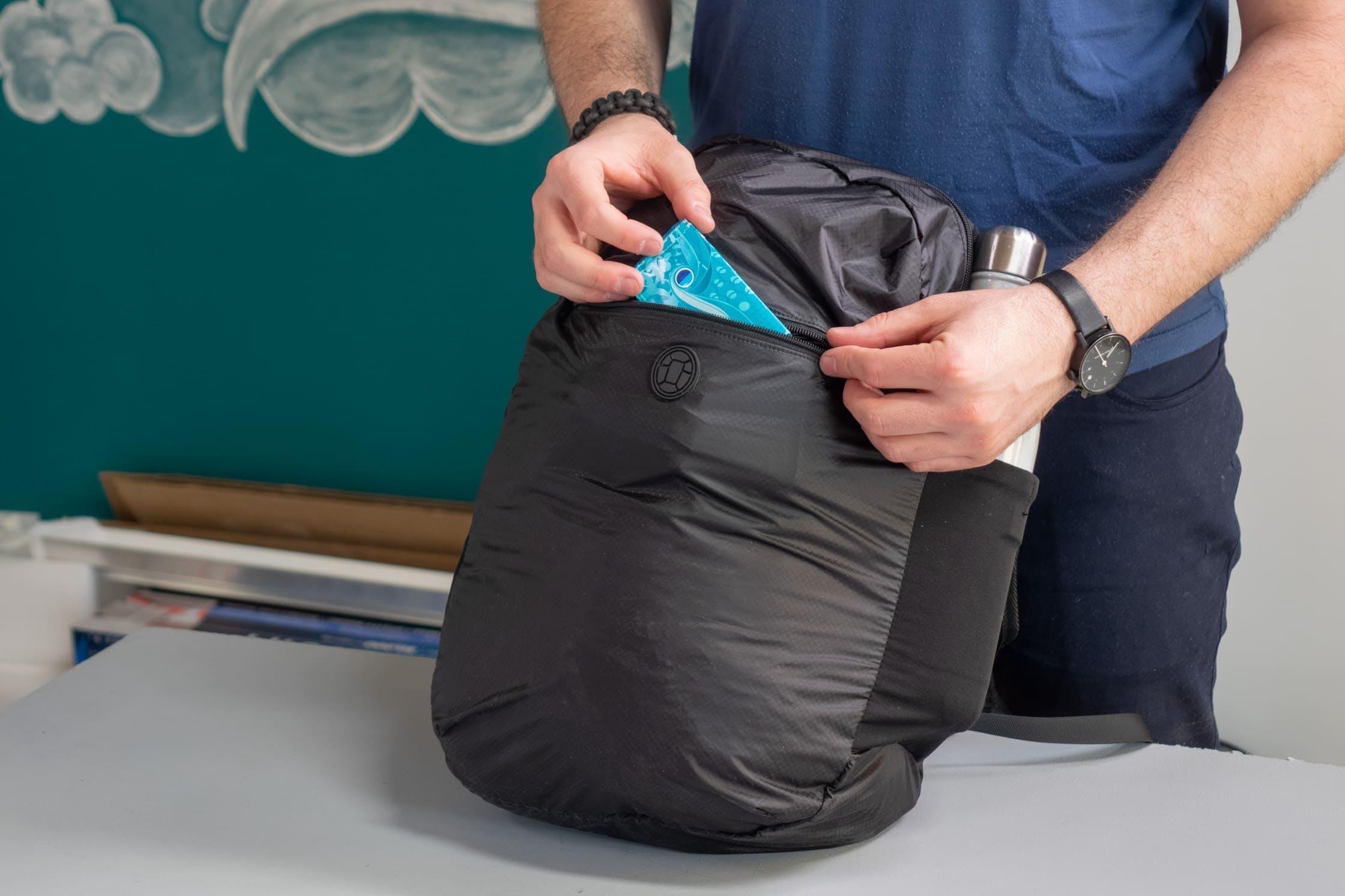 Tortuga Setout Packable Daypack Front Pocket