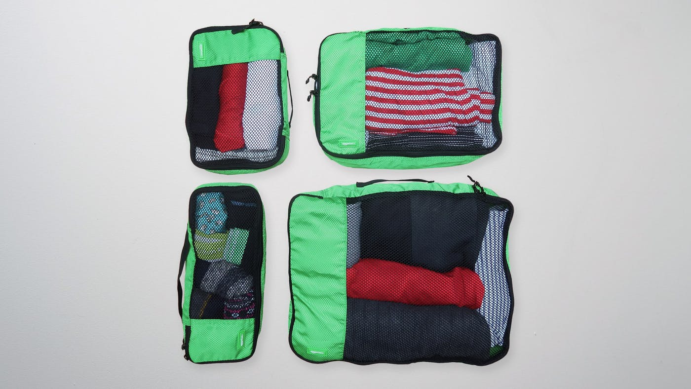 AmazonBasics Packing Cubes Review