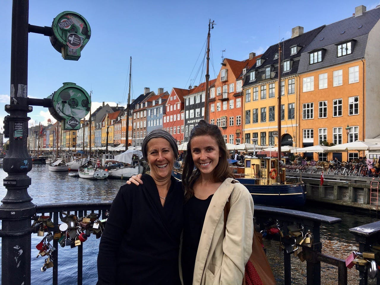 Natasha and Her Mom in Copenhagen (Thanks to $300 Flights)