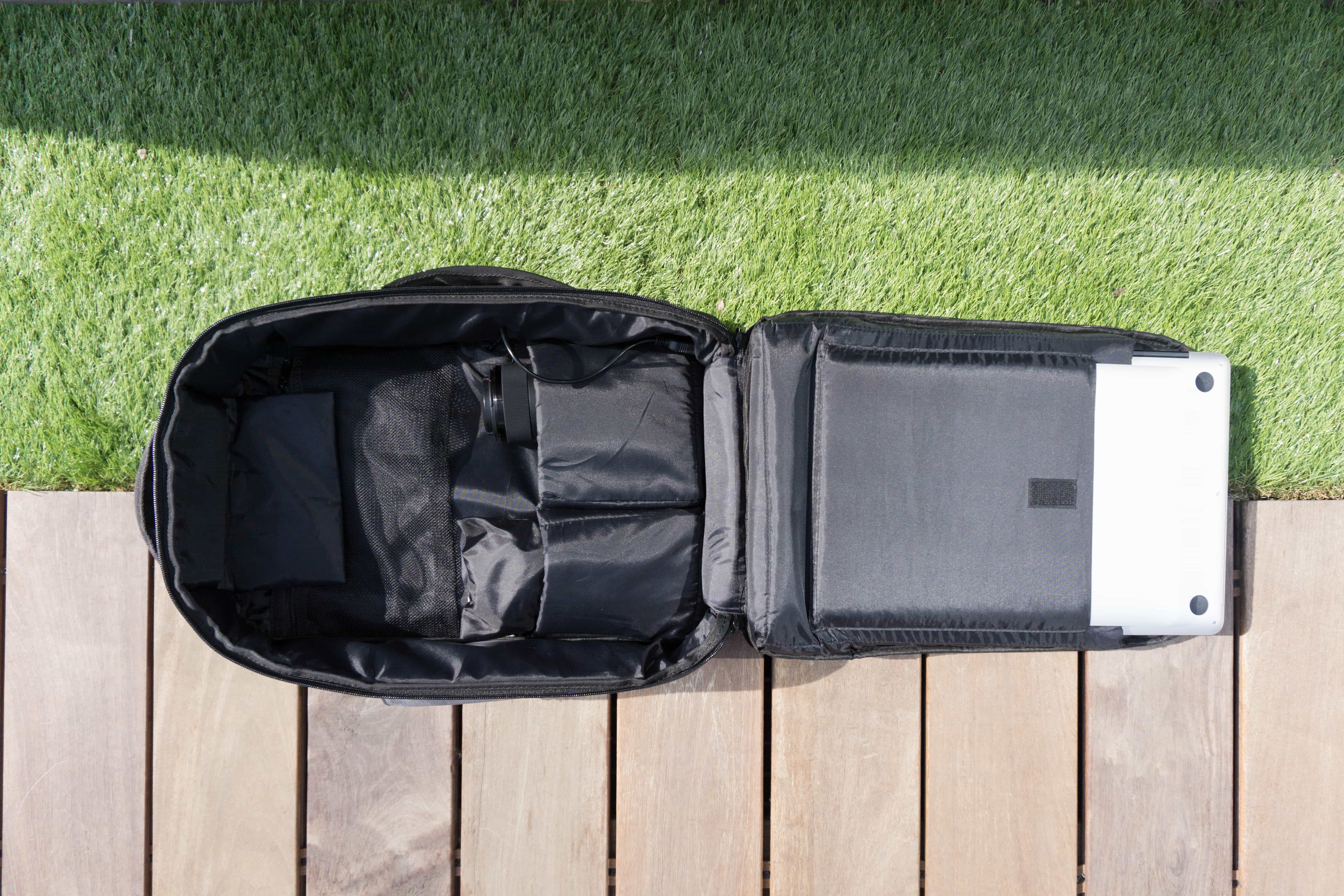 Standard Luggage Co. Daily Backpack Rear Compartment