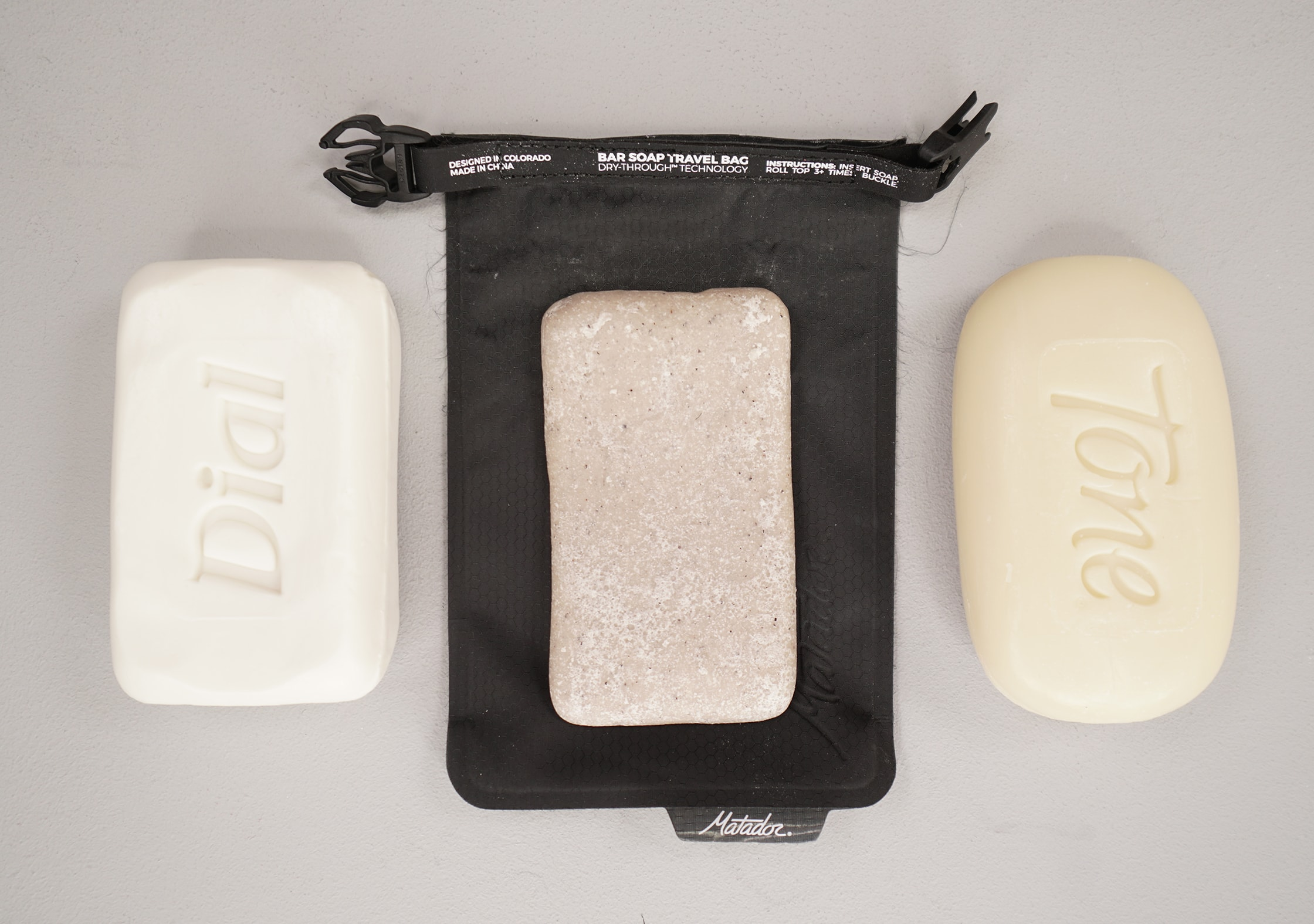 Matador FlatPak Soap Bar Case With Soap