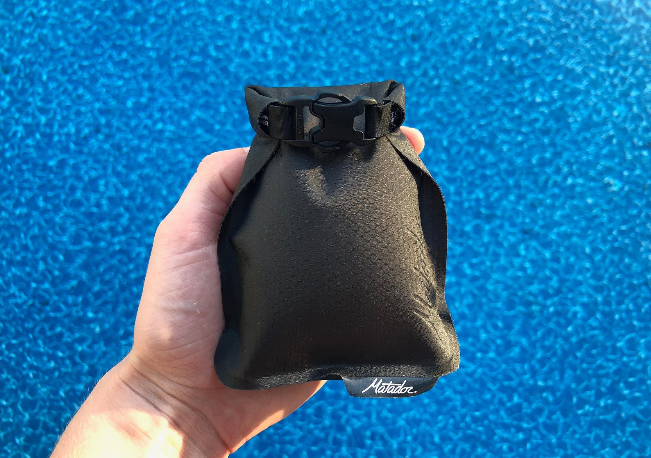 Matador FlatPak Soap Bar Case At Pool