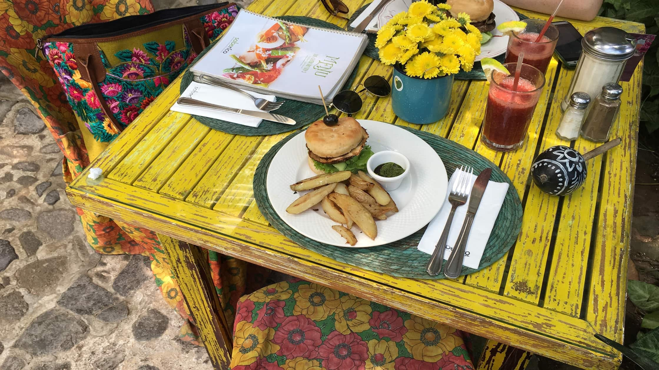 Vegan Dining in Antigua, Guatemala