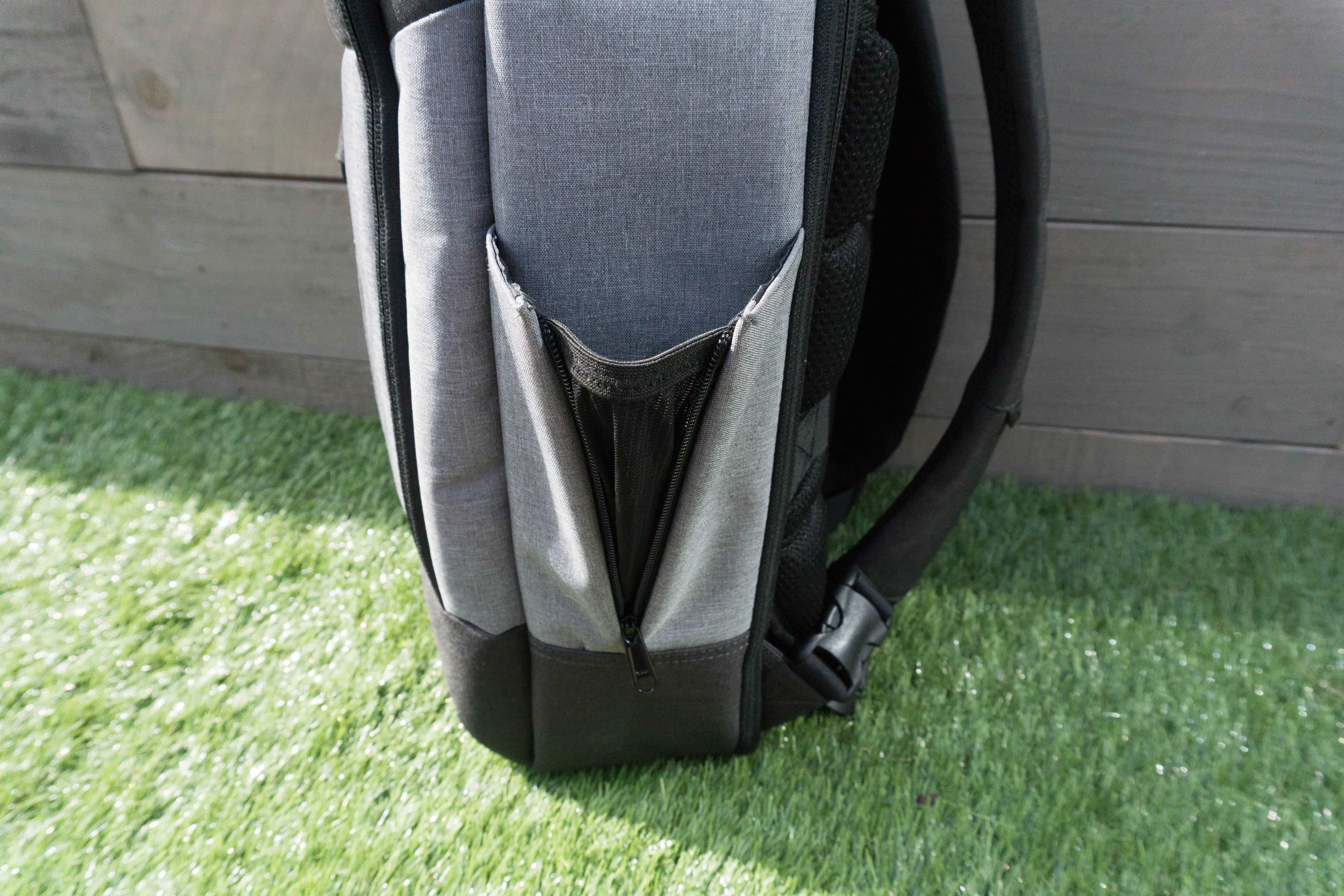 Standard Luggage Co. Daily Backpack Bottle Compartment