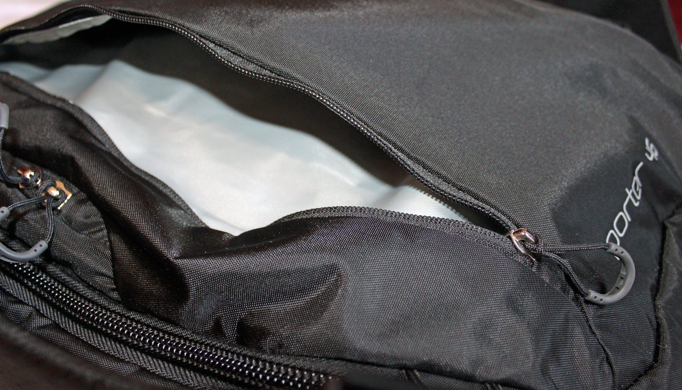 Osprey Porter 46 Front Pocket