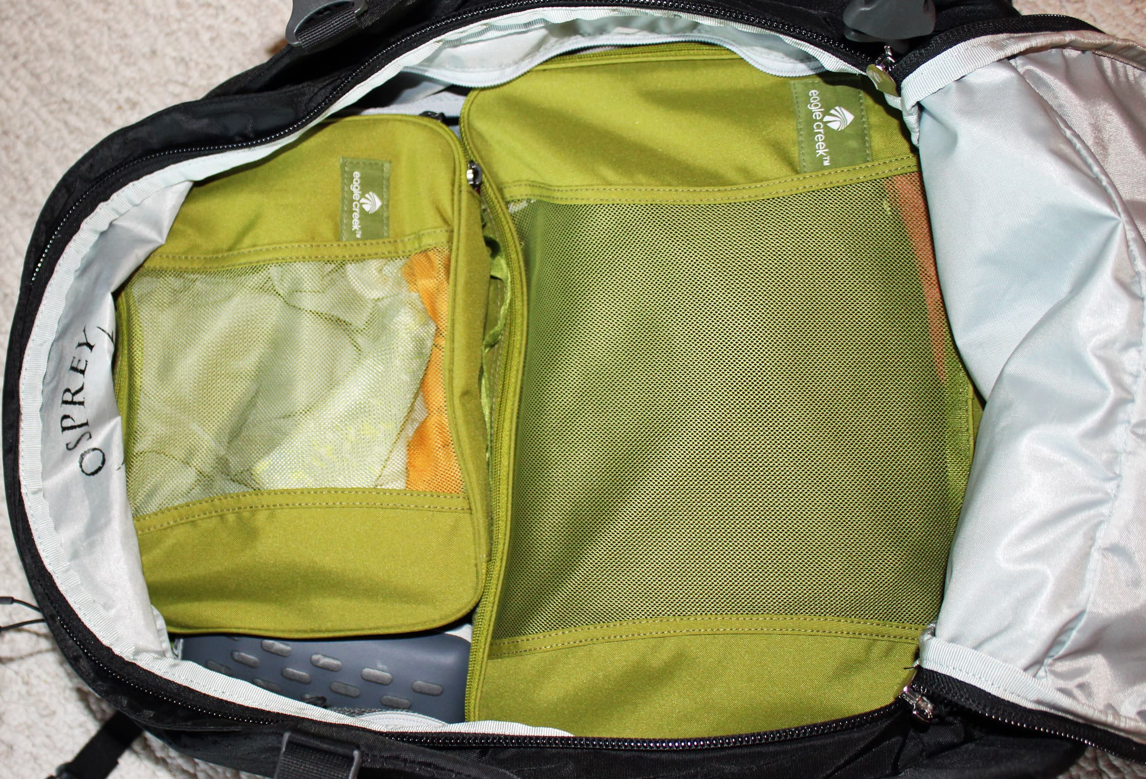 Osprey Porter 46 with Packing Cubes