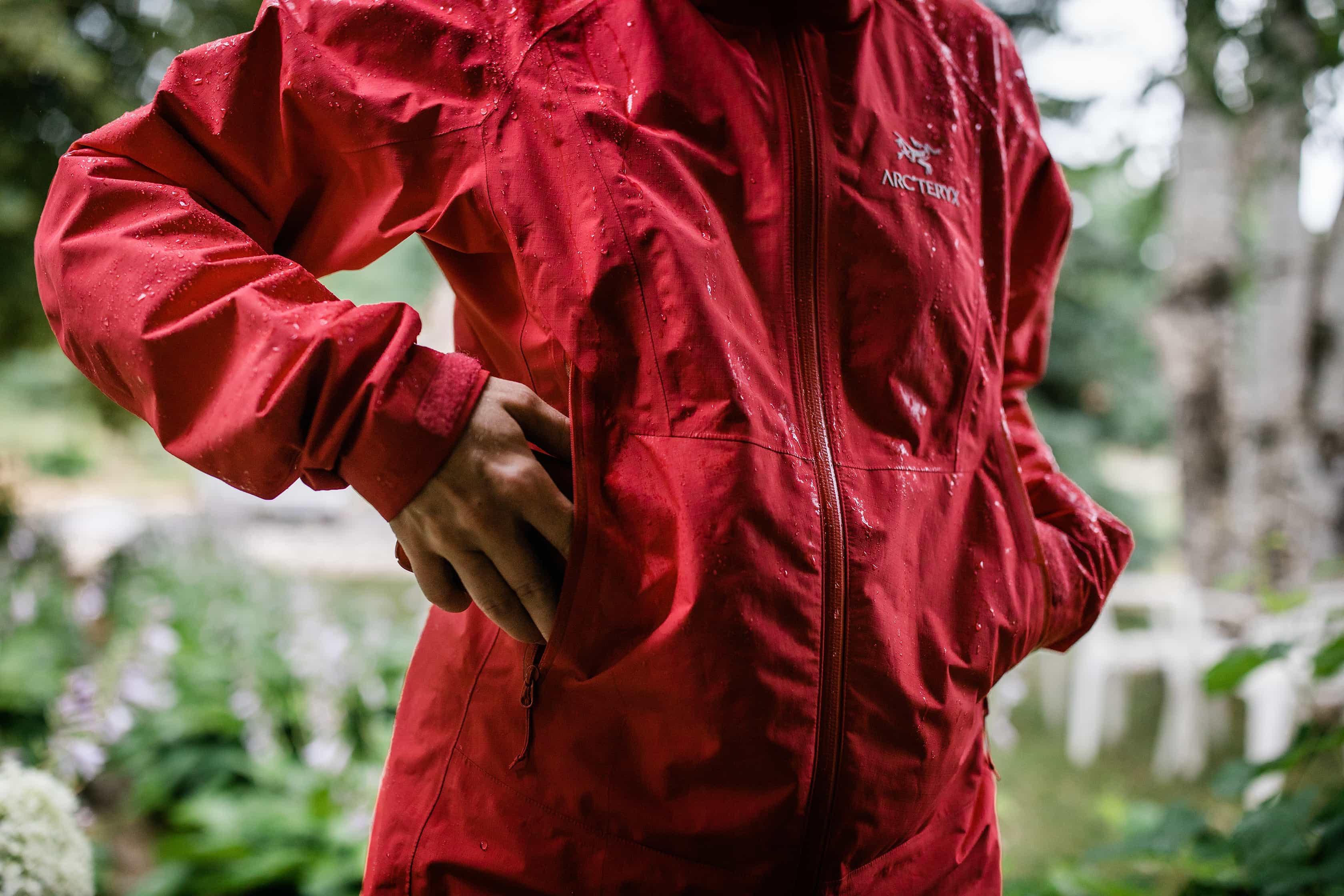 Arc'teryx Beta SL Jacket Pockets