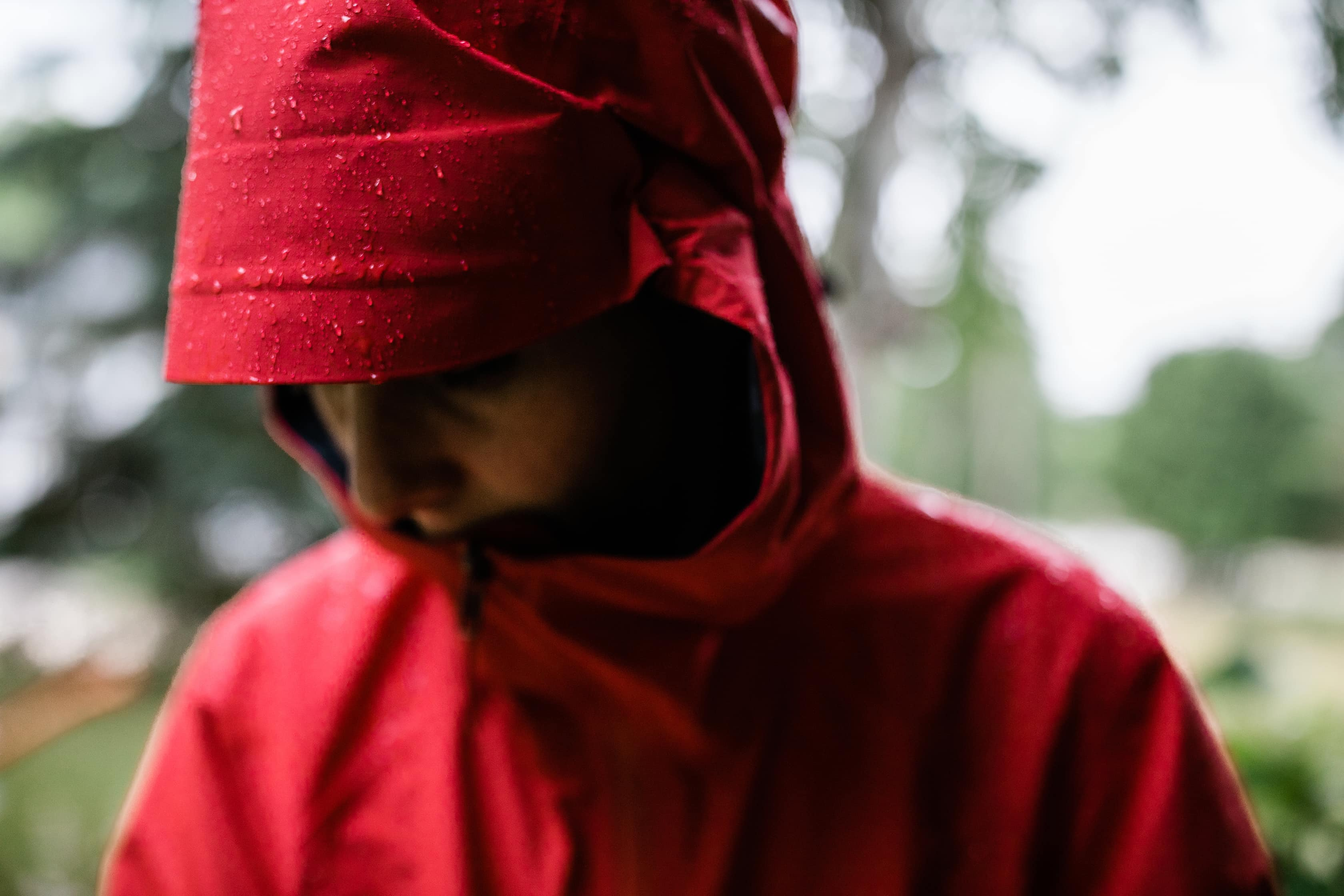 Arc'teryx Beta SL Jacket in the Rain
