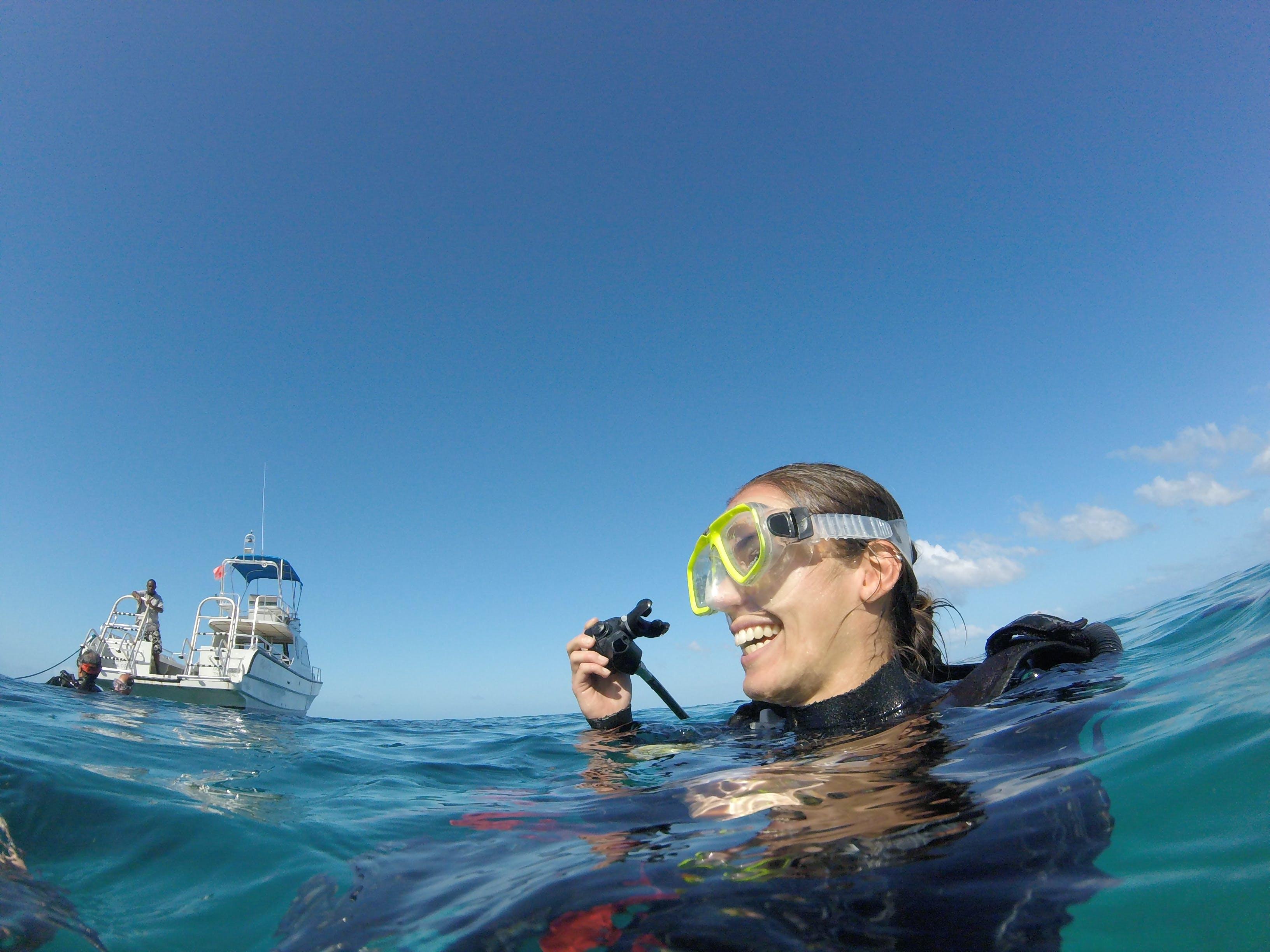 Kelsey Scuba Diving in Caye Caulker, Belize