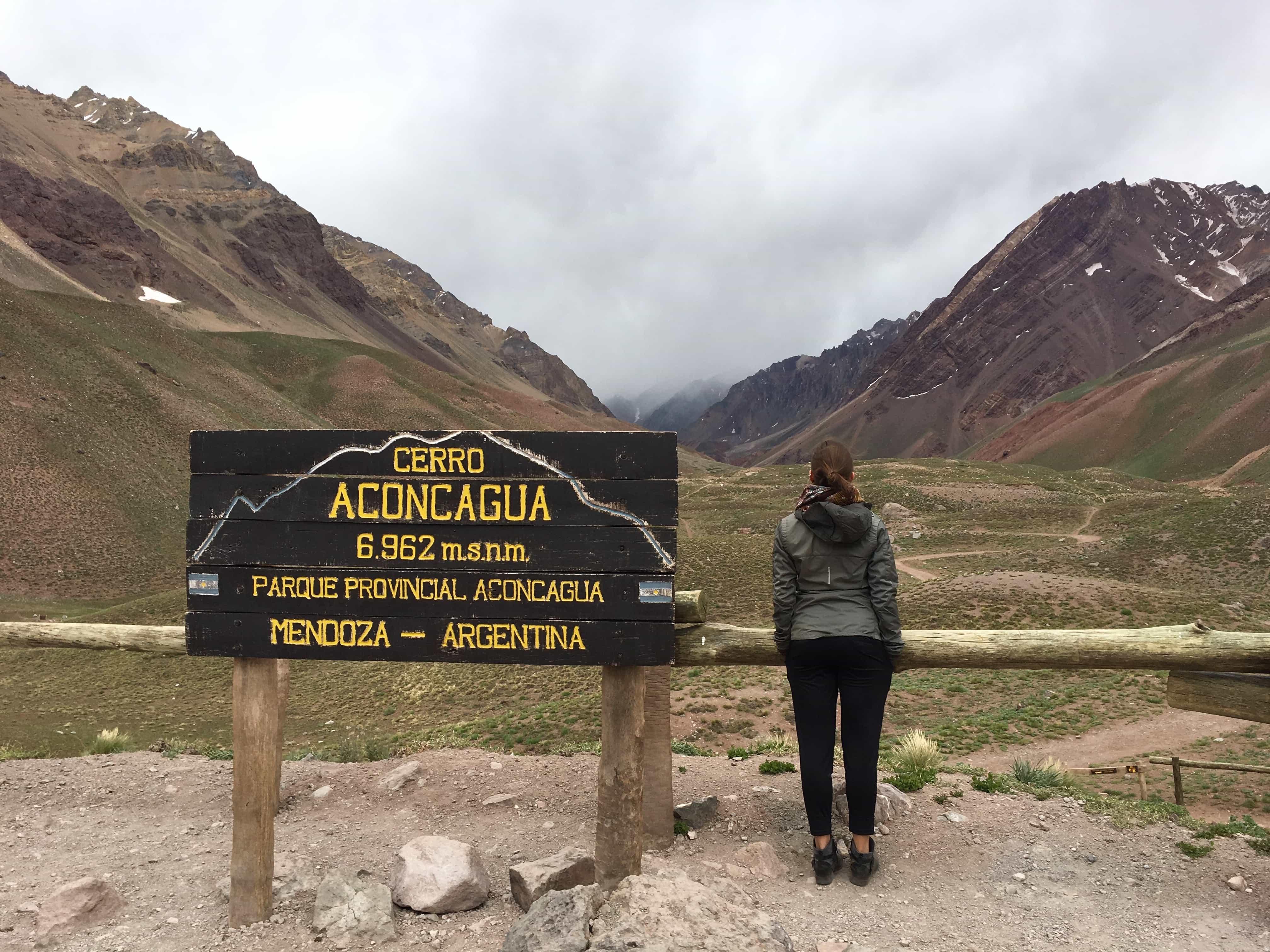 Kelsey in Mendoza, Argentina