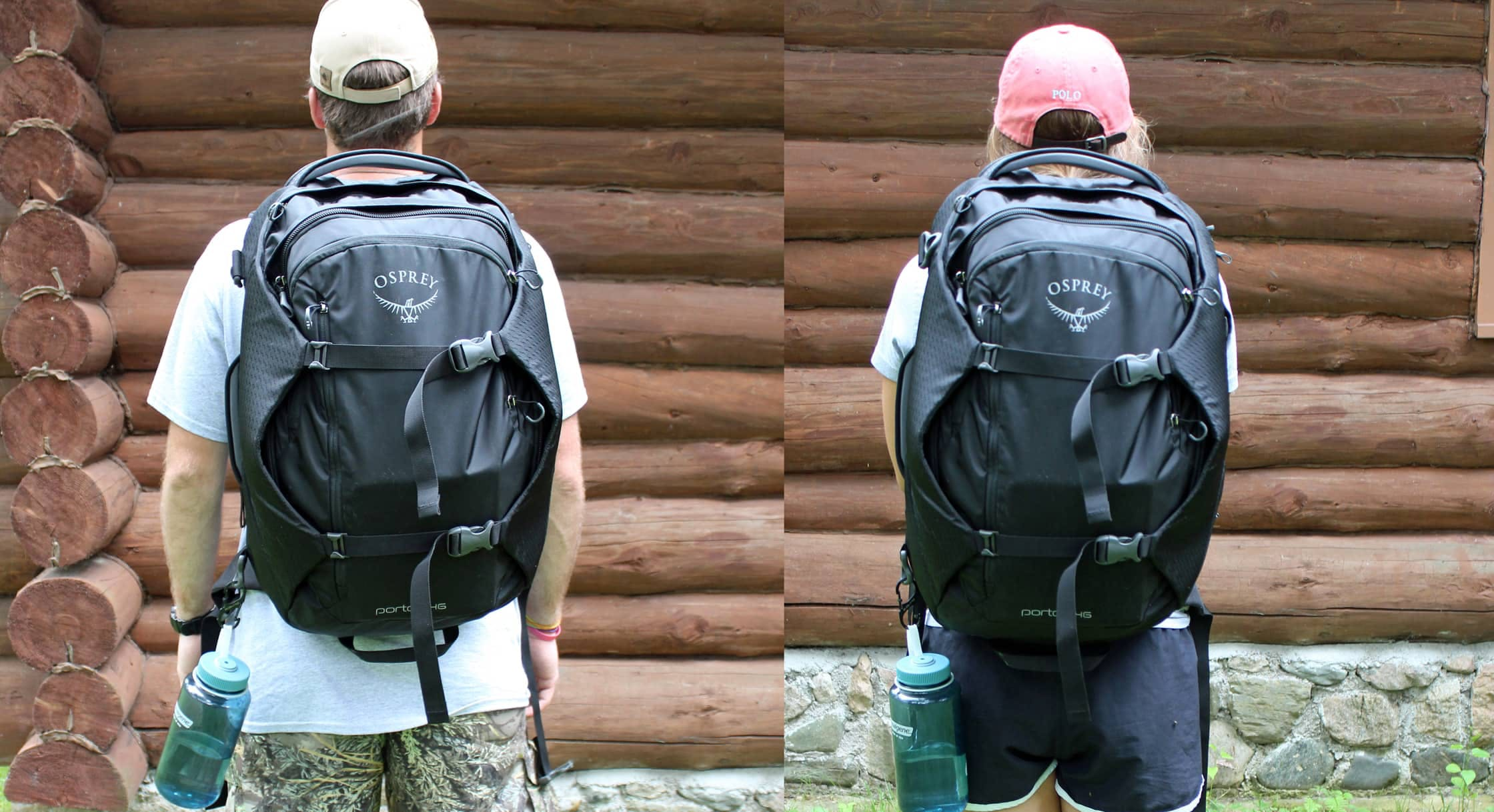 Osprey Porter 46 Side-By-Side Comparison