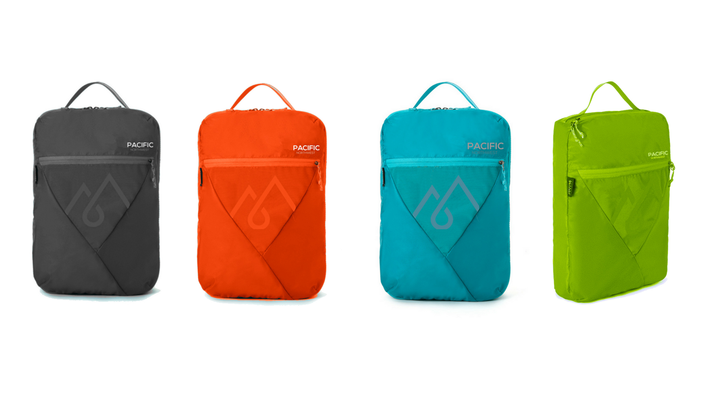 Pacific Northwest Elfin Packing Cubes Available Colors