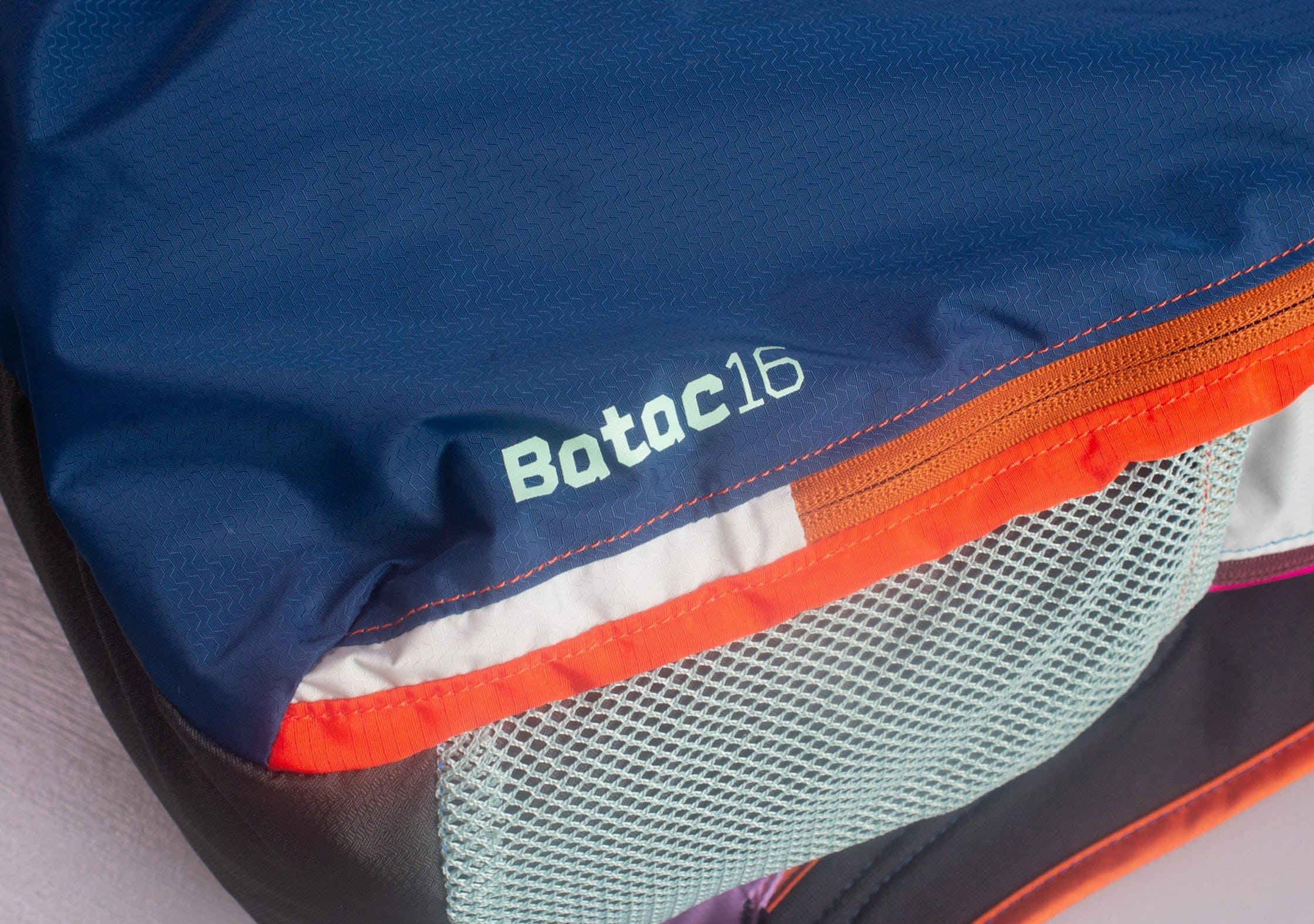 Cotopaxi Batac Branding On Side