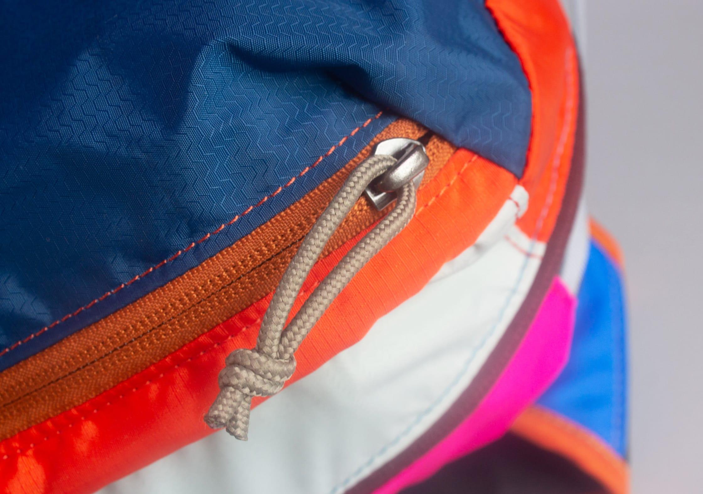 Cotopaxi Batac YKK Zippers & Unique Zipper Pulls