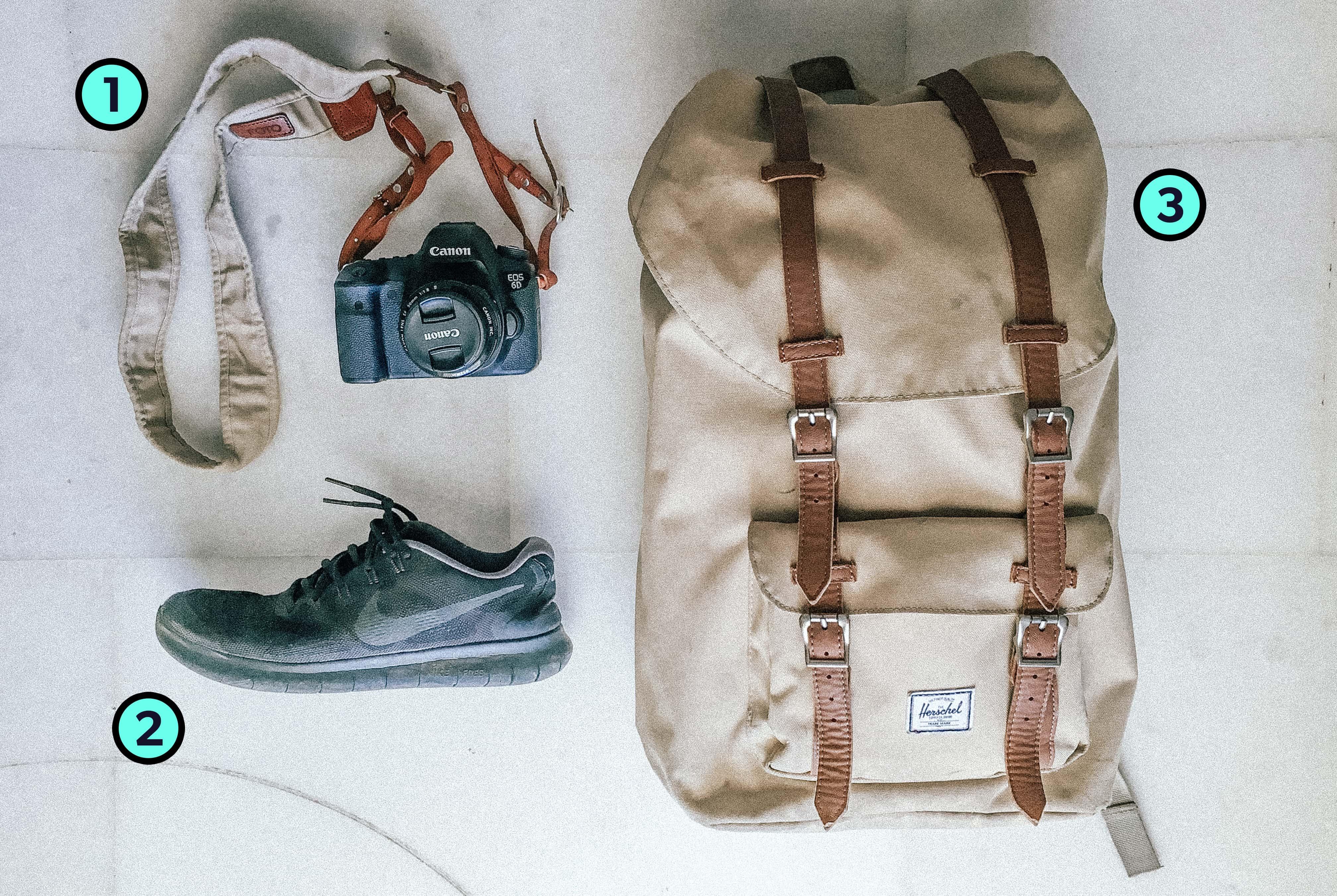 Daniel Sammut's Trusty Three Travel Items
