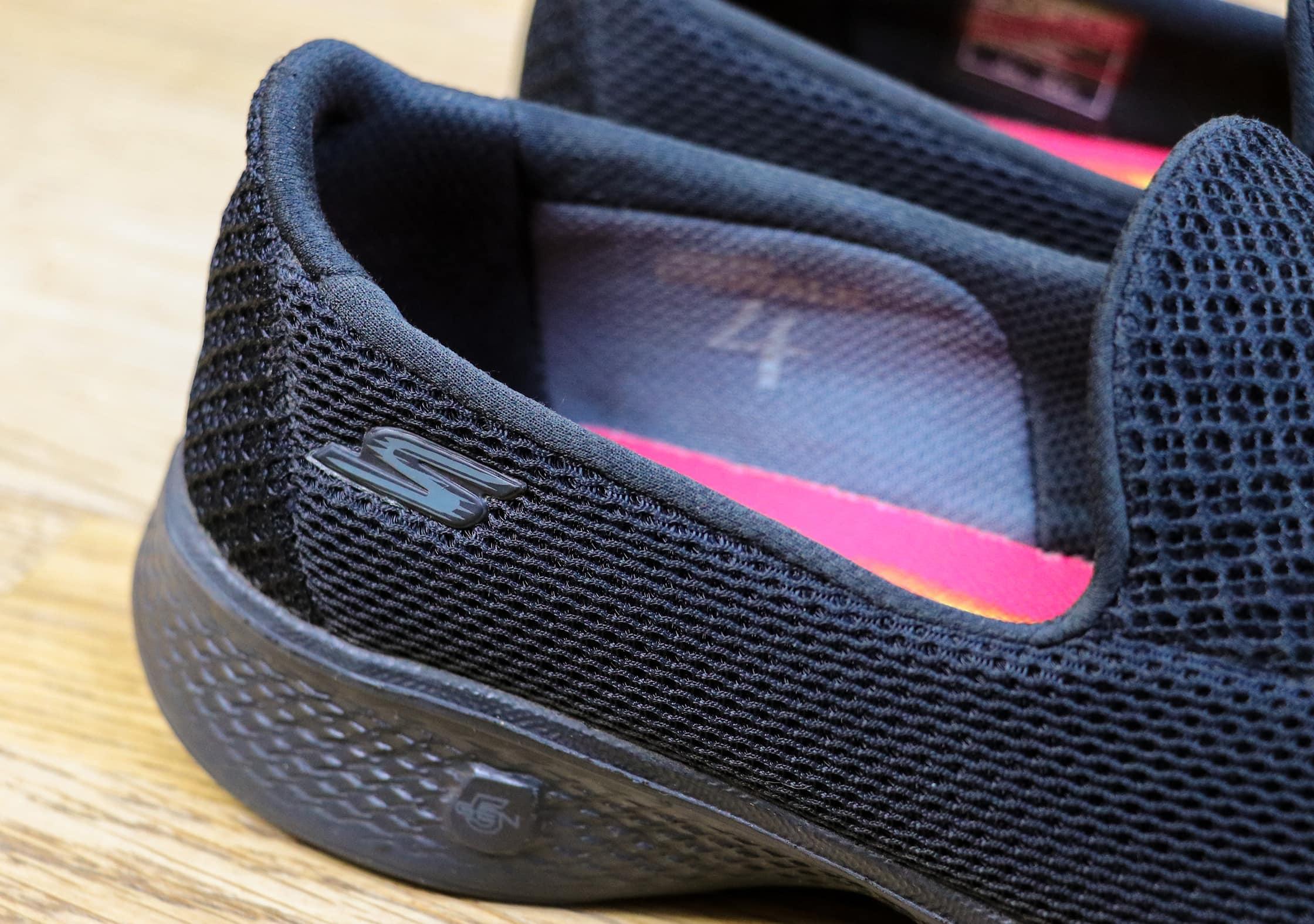 Discreet Skechers Branding