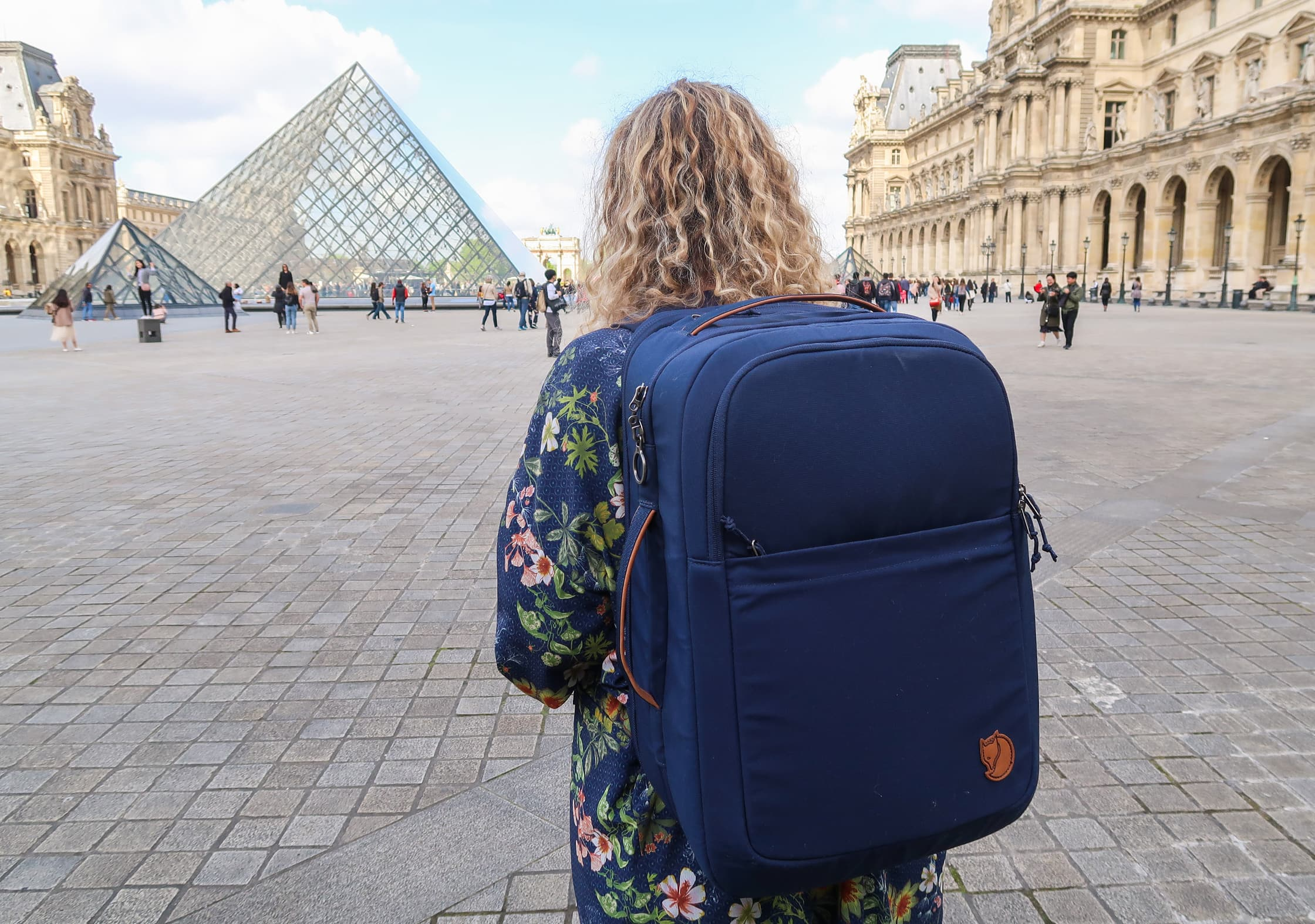 Fjallraven Travel Pack In Paris