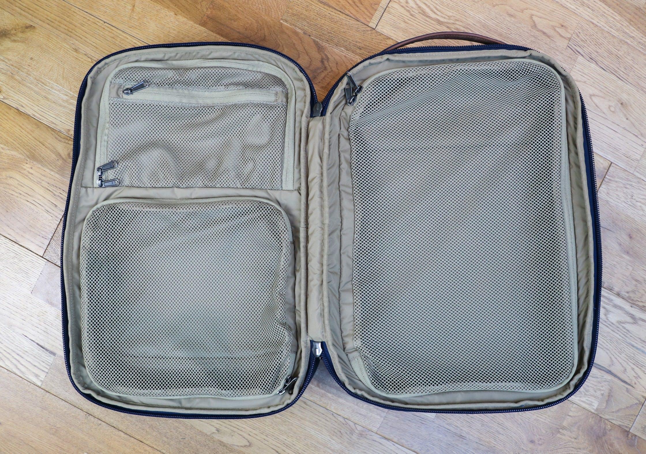 Fjallraven Travel Pack Internal Organization 70c791f7d82a1