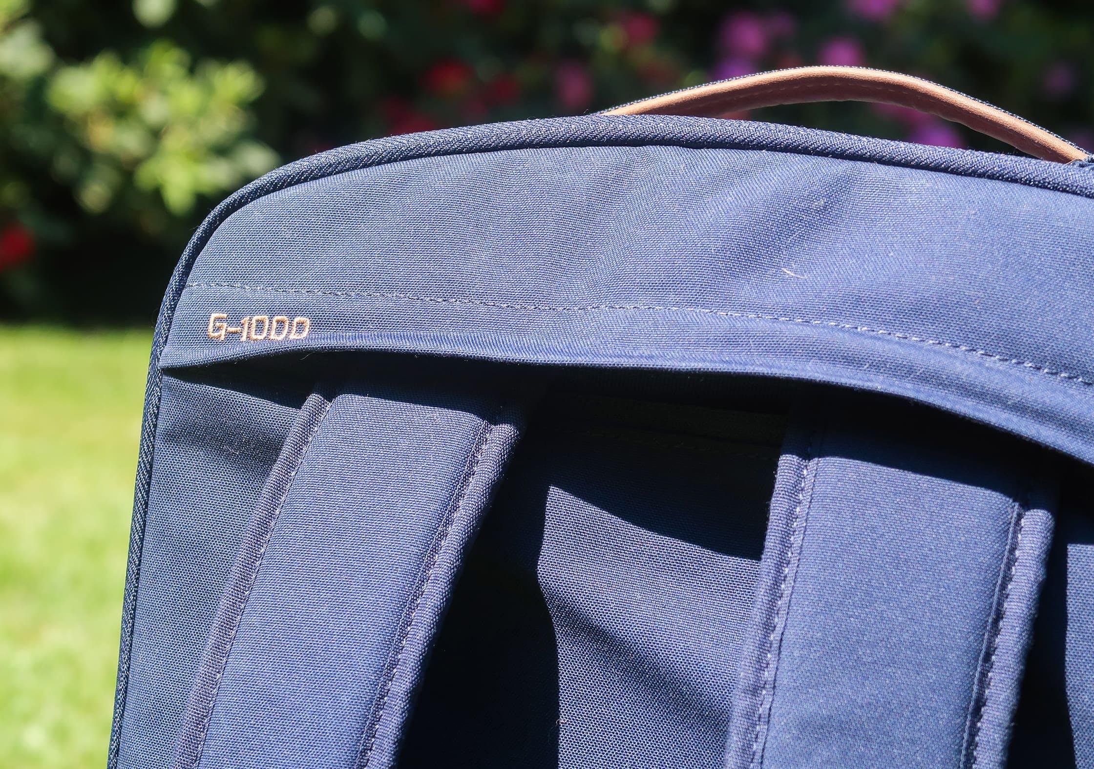 Fjallraven Travel Pack G-1000 Material