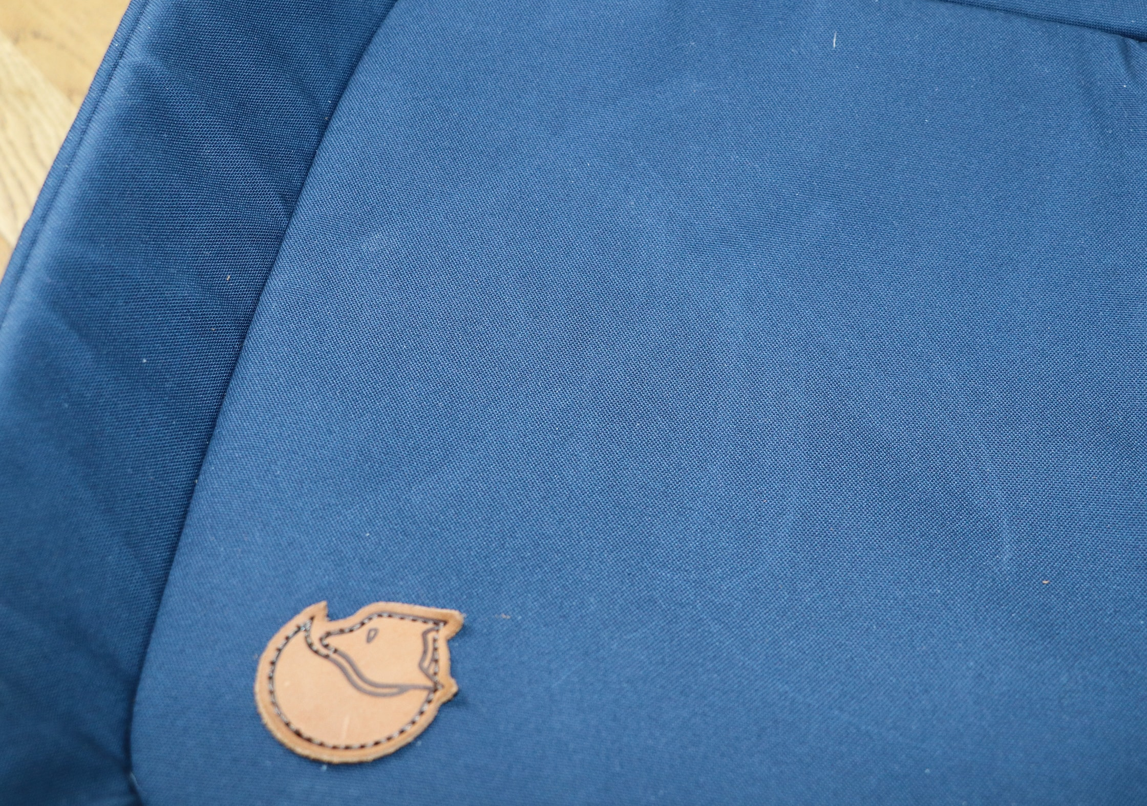 Marks On The Fabric Of The Fjallraven Travel Pack