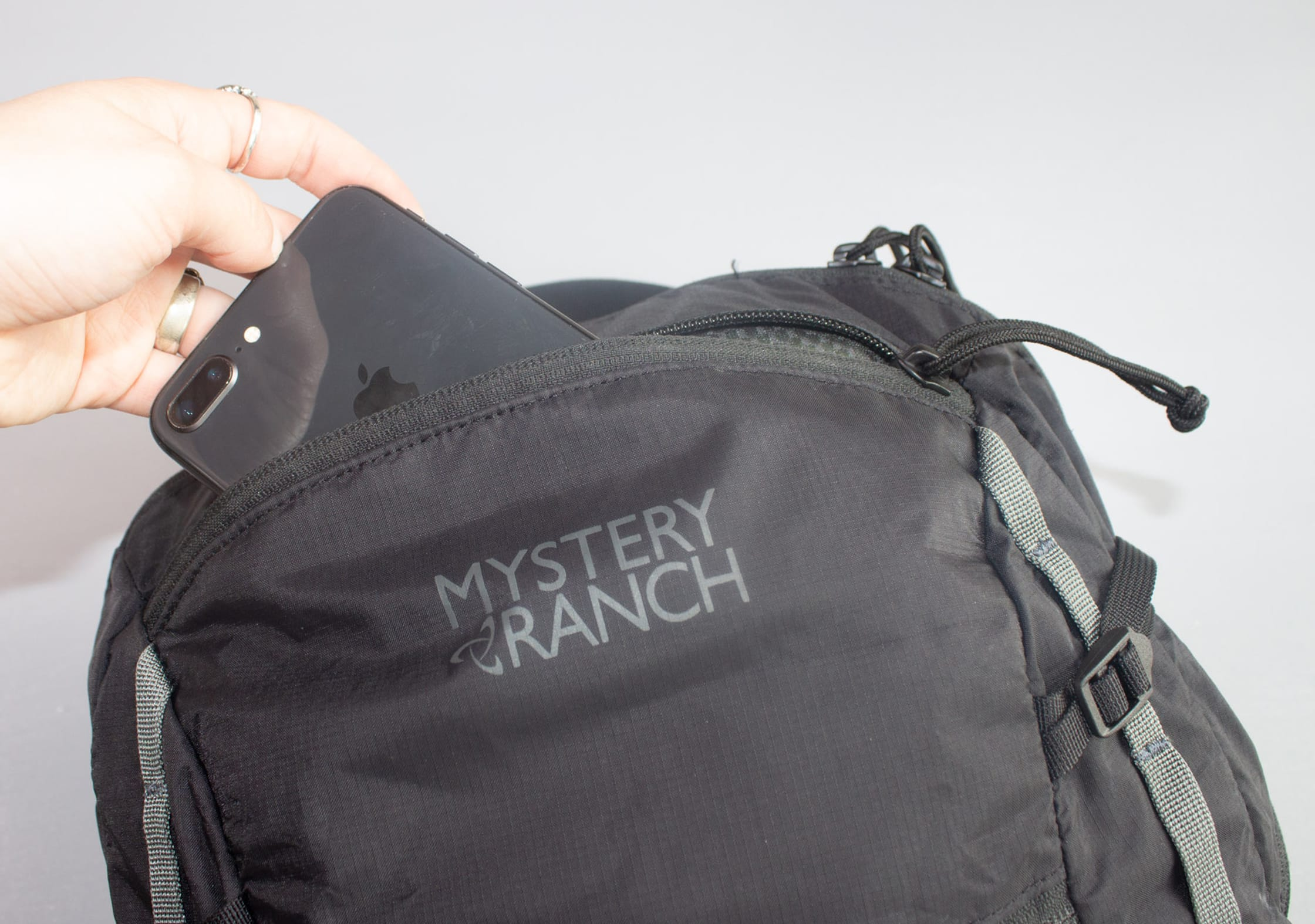 Mystery Ranch In and Out Packable Daypack Quick Grab Pocket