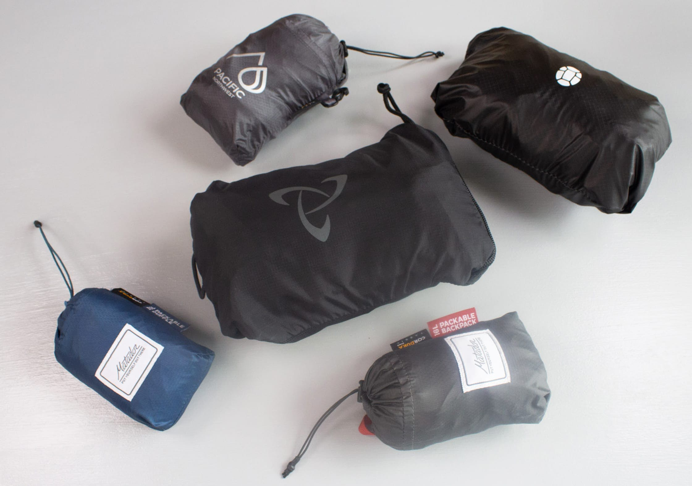 Mystery Ranch In and Out Packable Daypack Size Comparison
