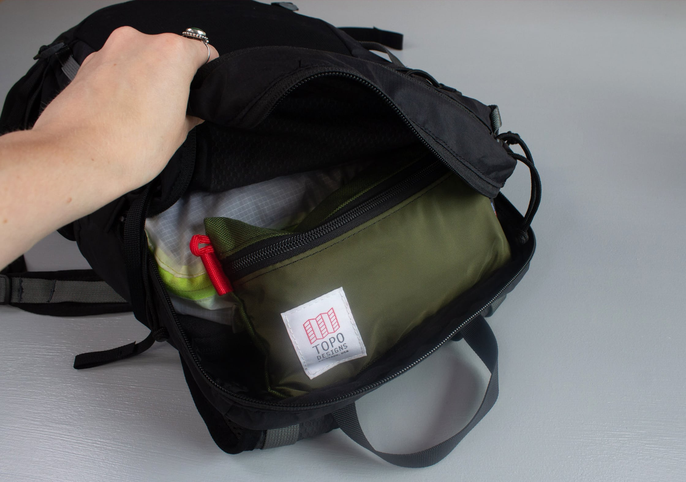 Mystery Ranch In and Out Packable Daypack Main Compartment
