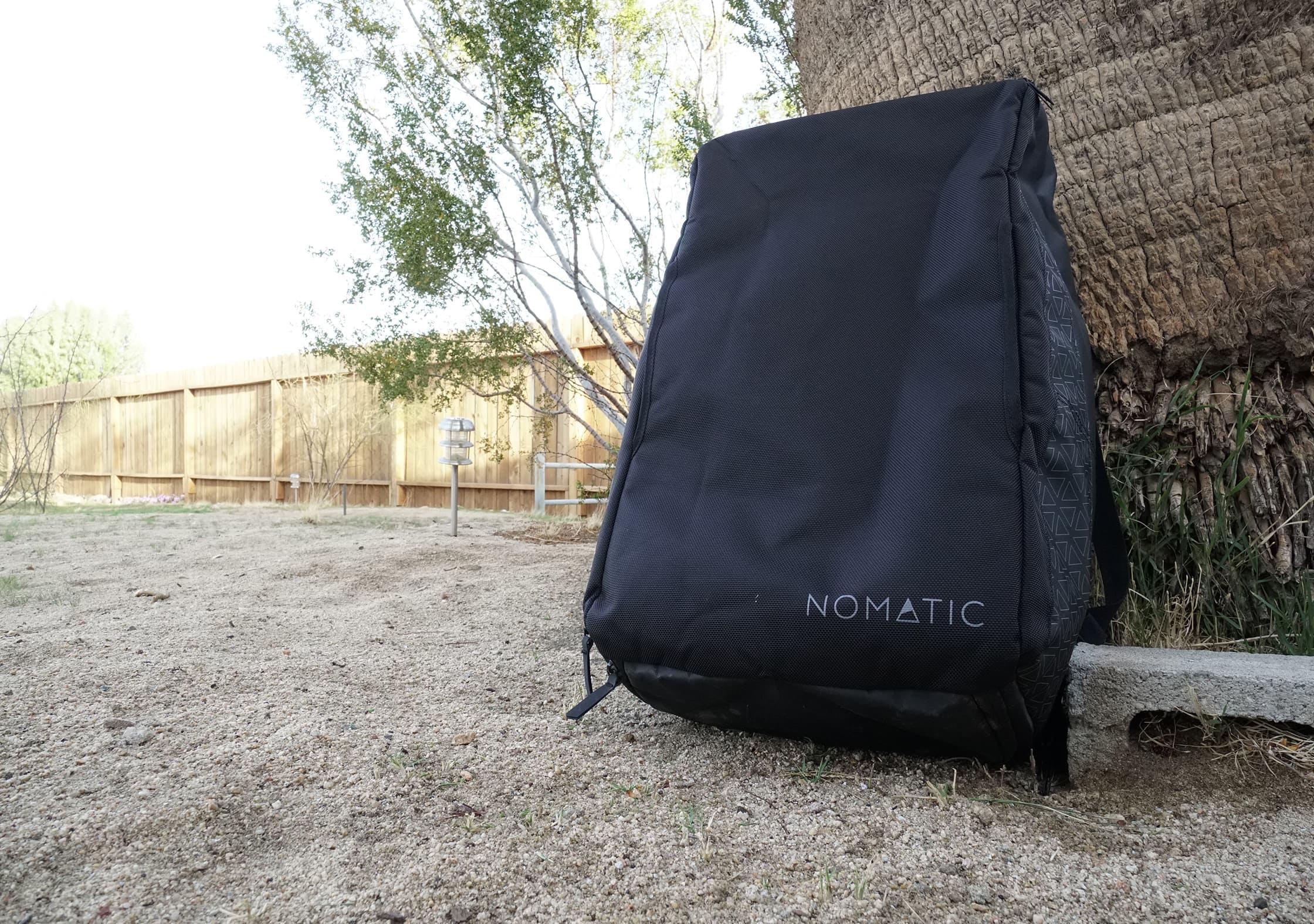 NOMATIC Travel Bag Branding