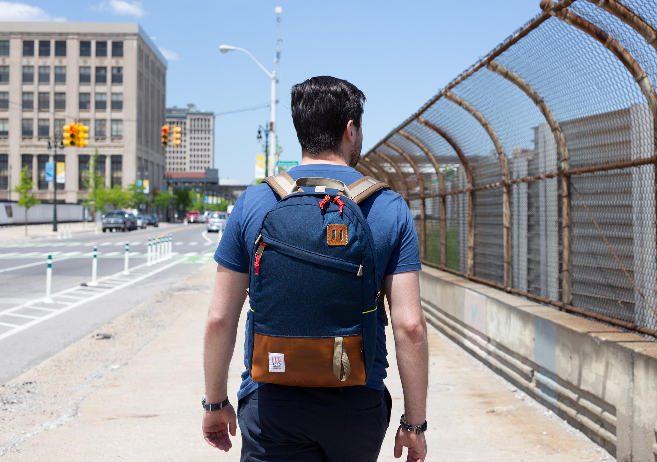 Topo Designs Daypack In Detroit