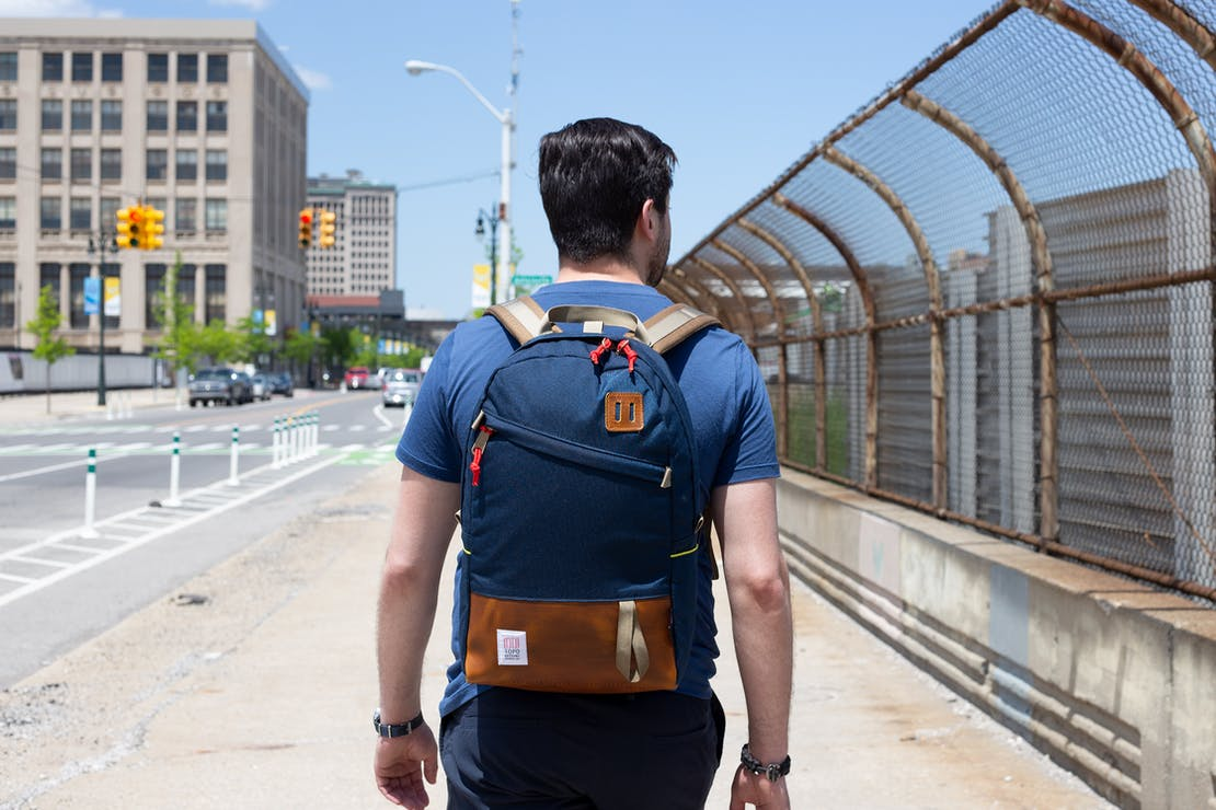 Topo Designs Daypack In Detroit