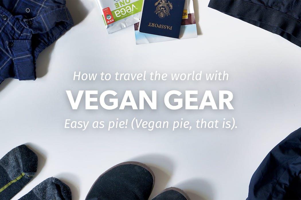 Vegan World Travel Gear Guide