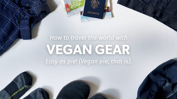 Vegan World Travel Gear Guide