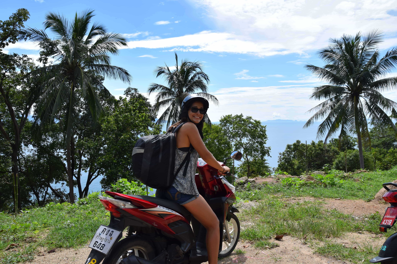 Kate Smith in Koh Phangan, Thailand