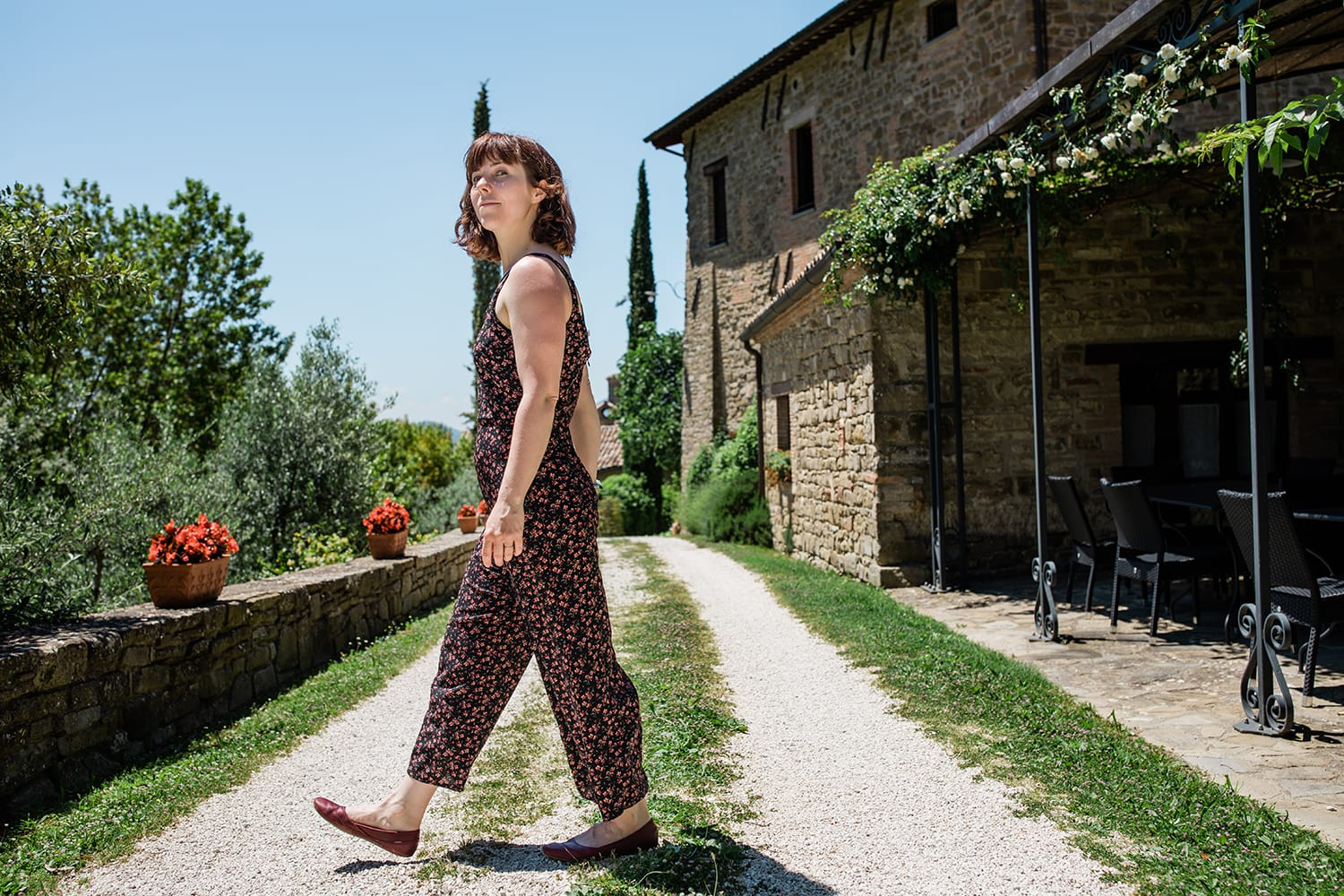 Merrell Ember shoes in Tuscany Italy