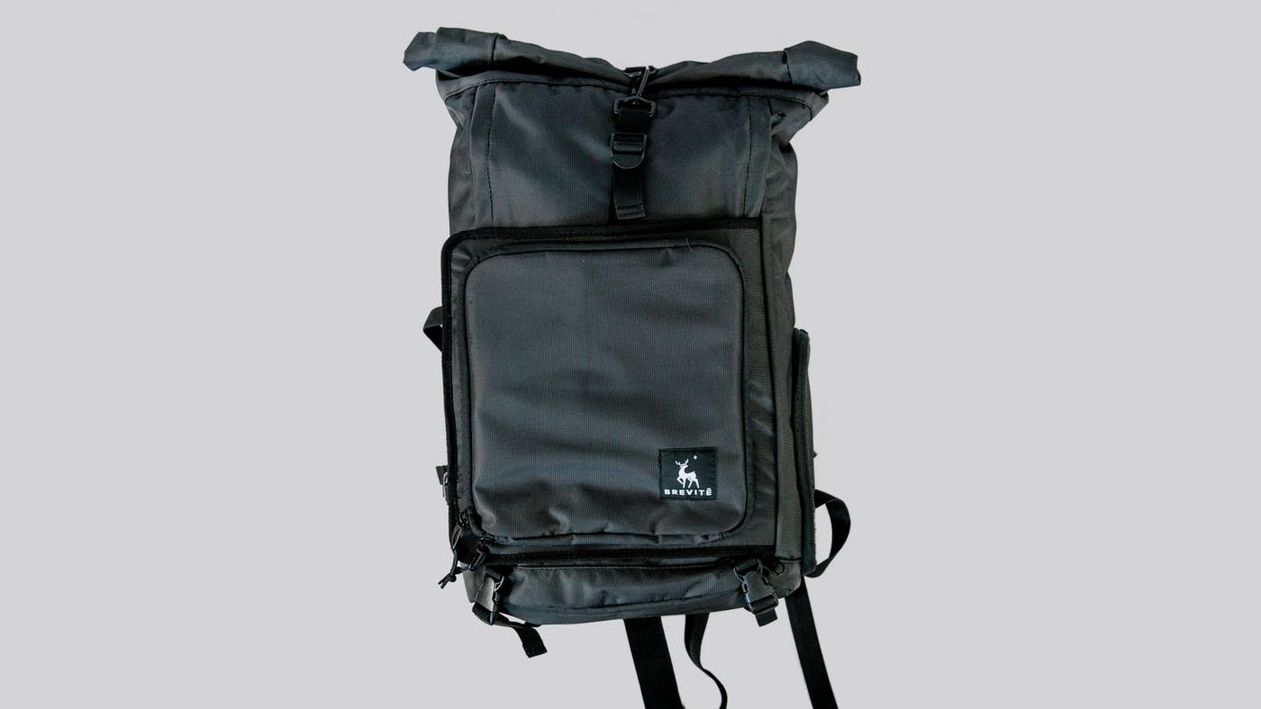 Brevite Rolltop Photography Backpack