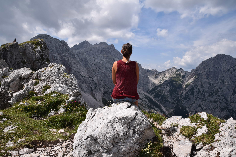 Kate Smith in the Slovenia Alps
