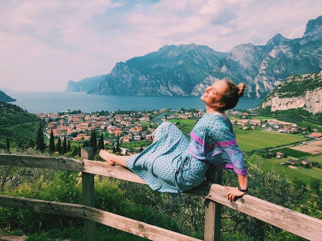 Brittney Martinson in Torbole, Italy