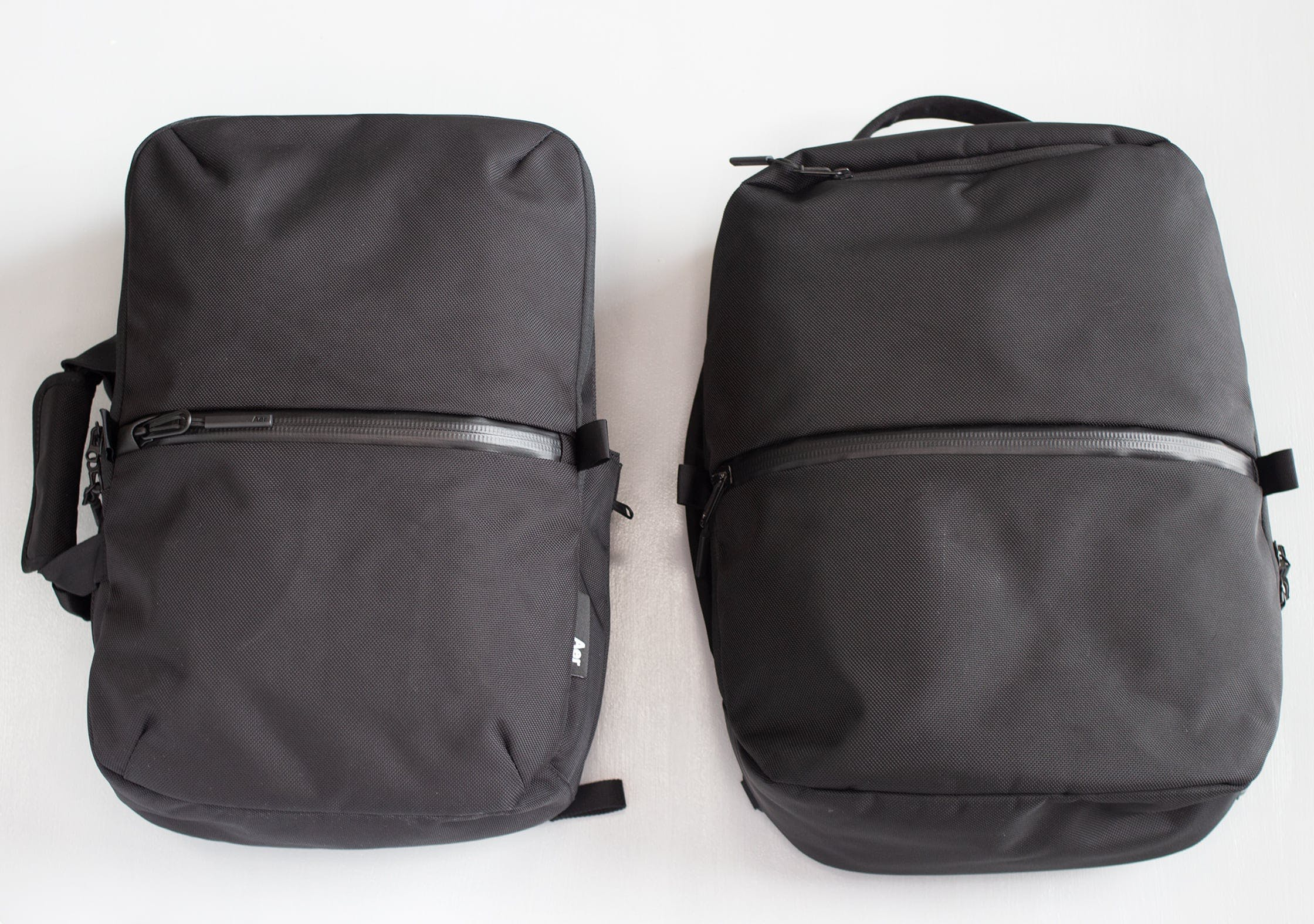 Aer Flight Pack 2 Compared With Flight Pack 1