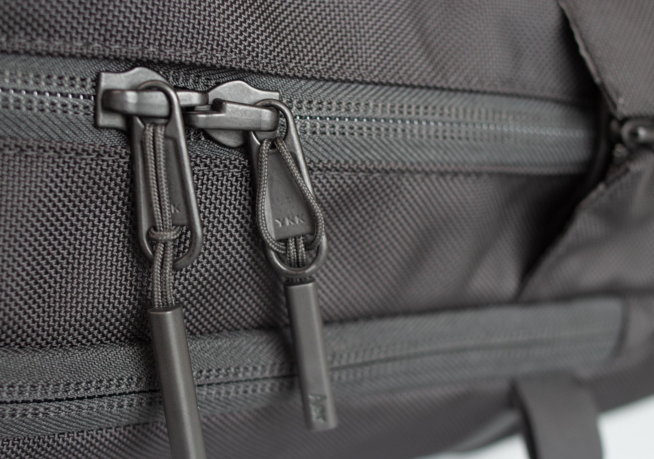 Aer Flight Pack 2 YKK Zippers