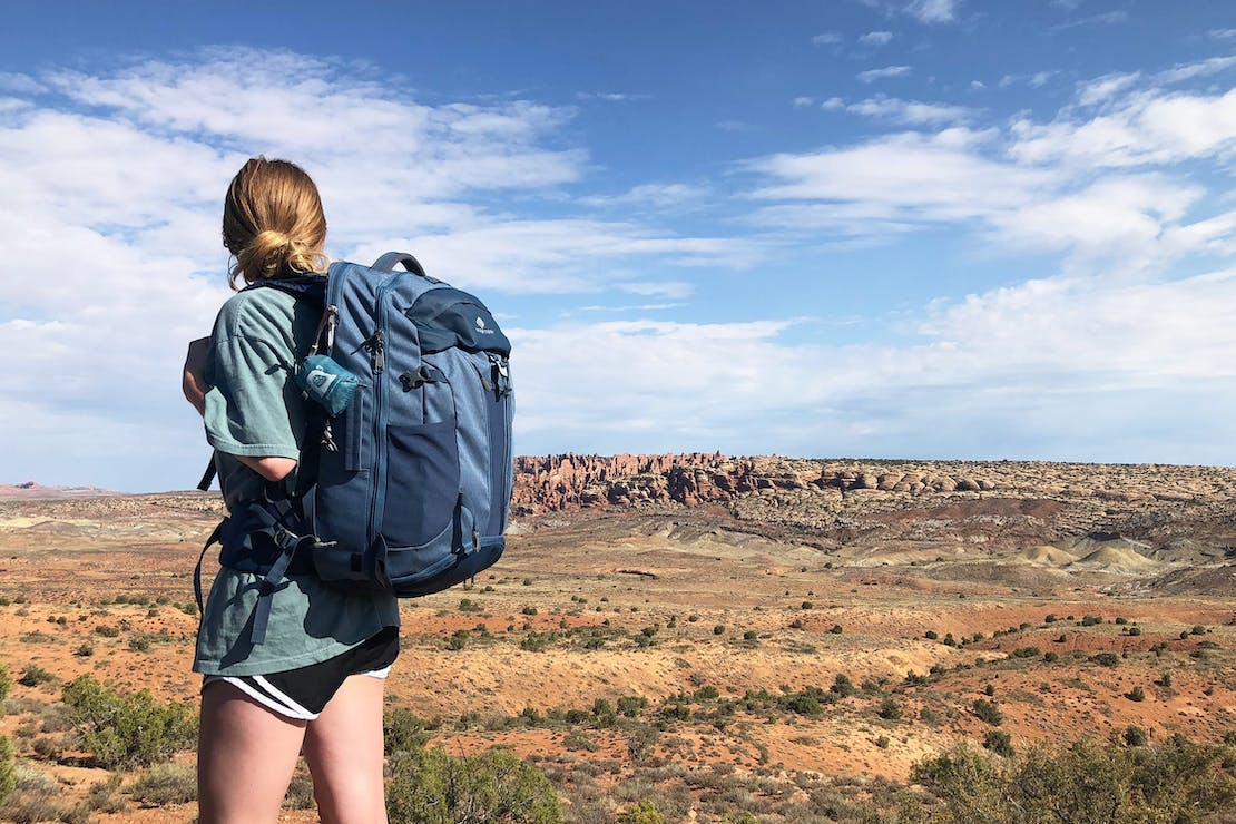 Eagle Creek Global Companion 40L Travel Pack at Arches National Park