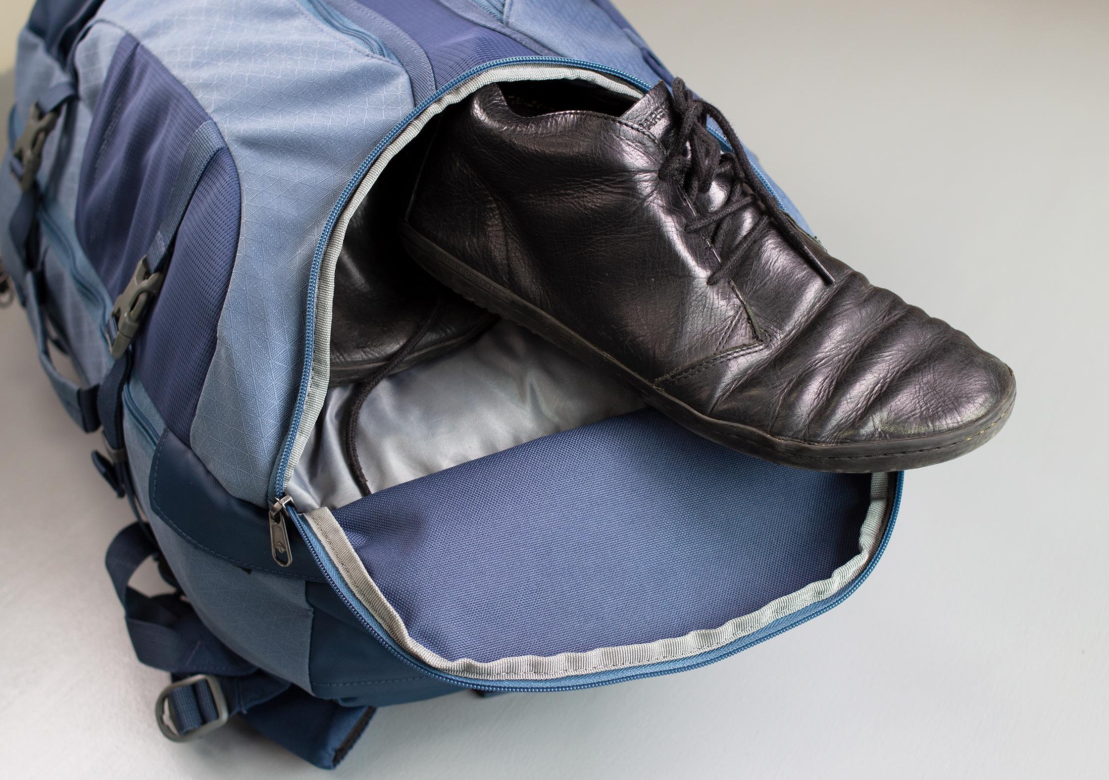 Eagle Creek Global Companion 40L Travel Pack Shoe Compartment