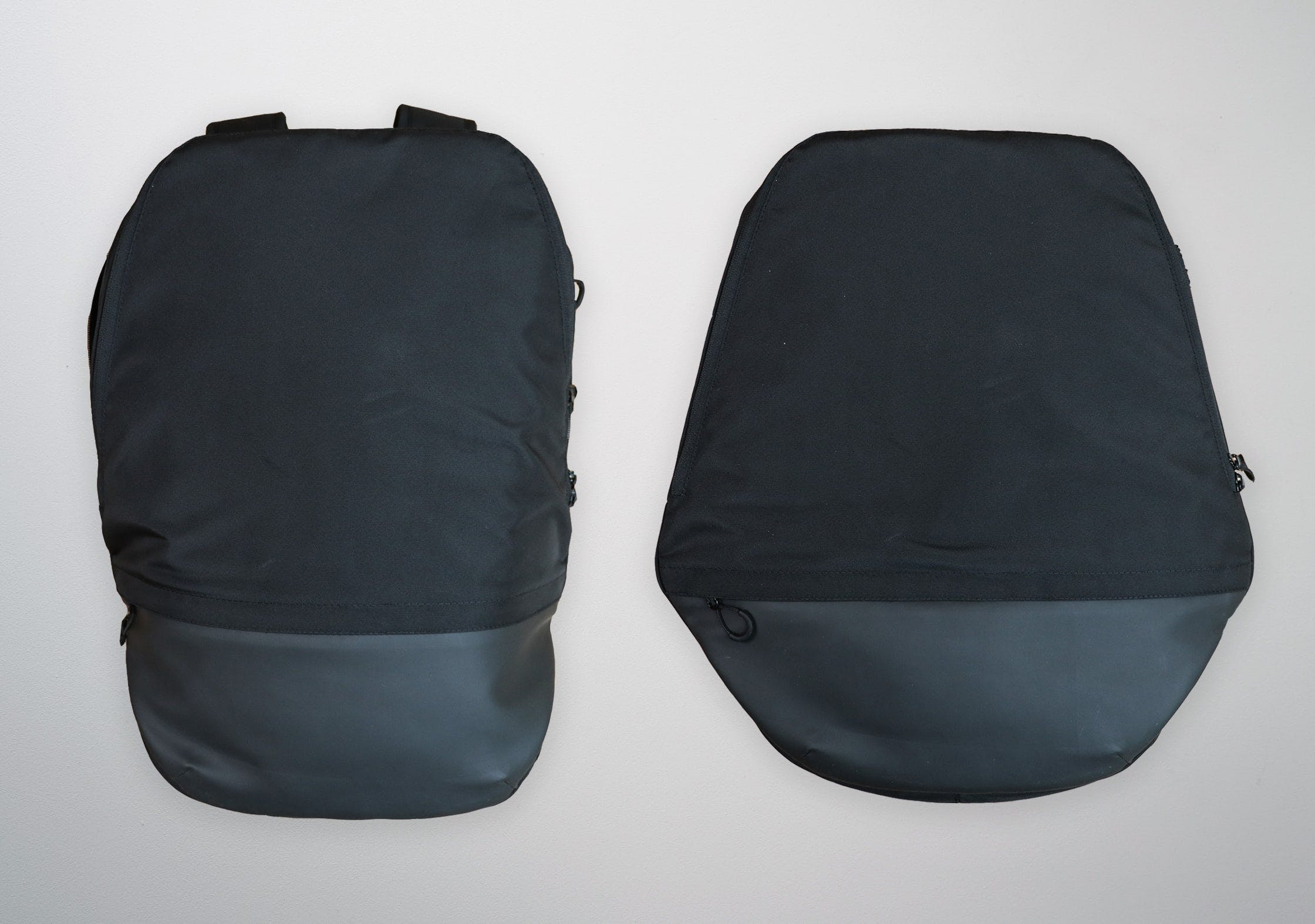 OPPOSETHIS Invisible Carry-On Full Vs Half-Empty Daypack Mode