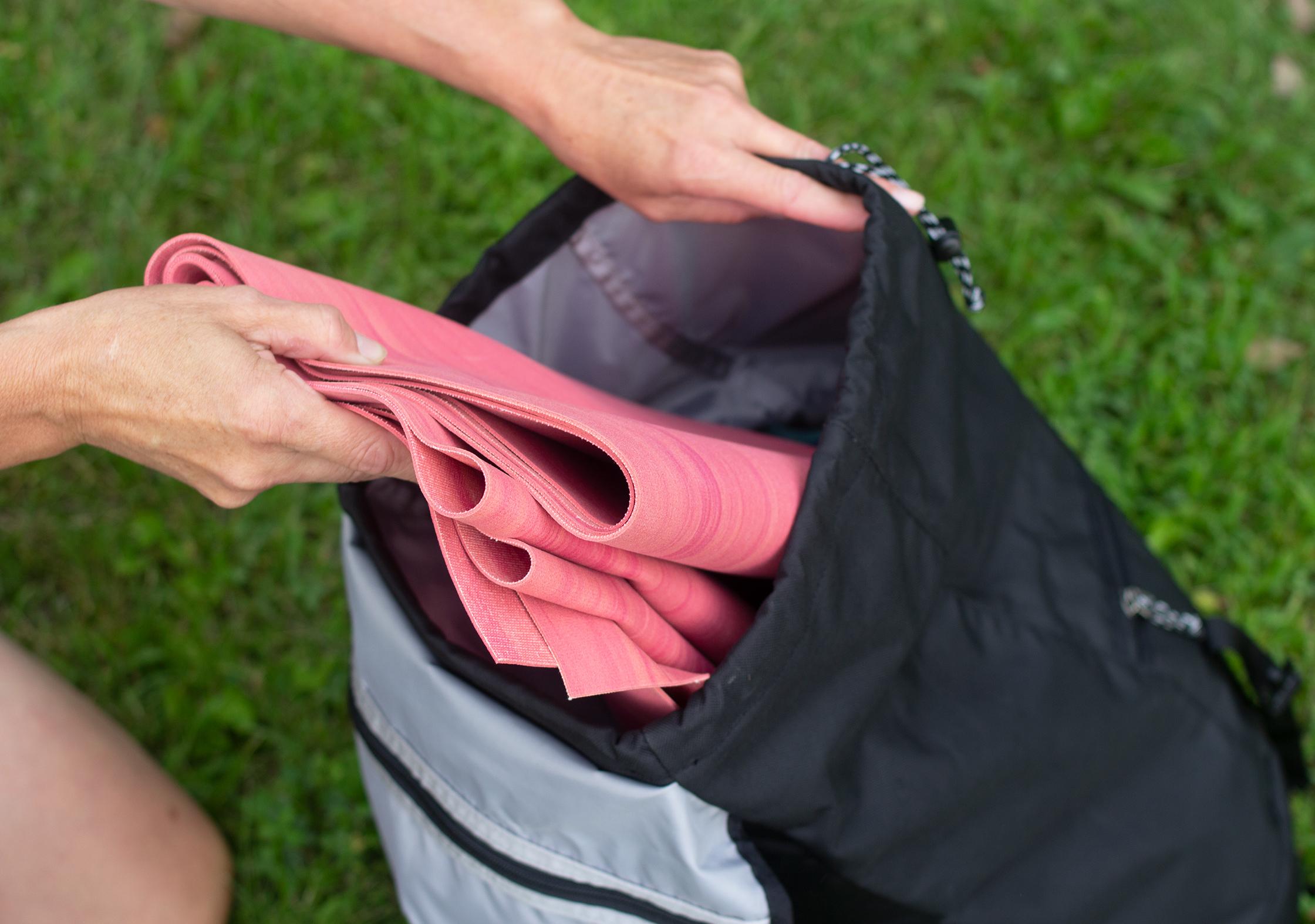 Manduka eKO SuperLite Yoga Mat Folded