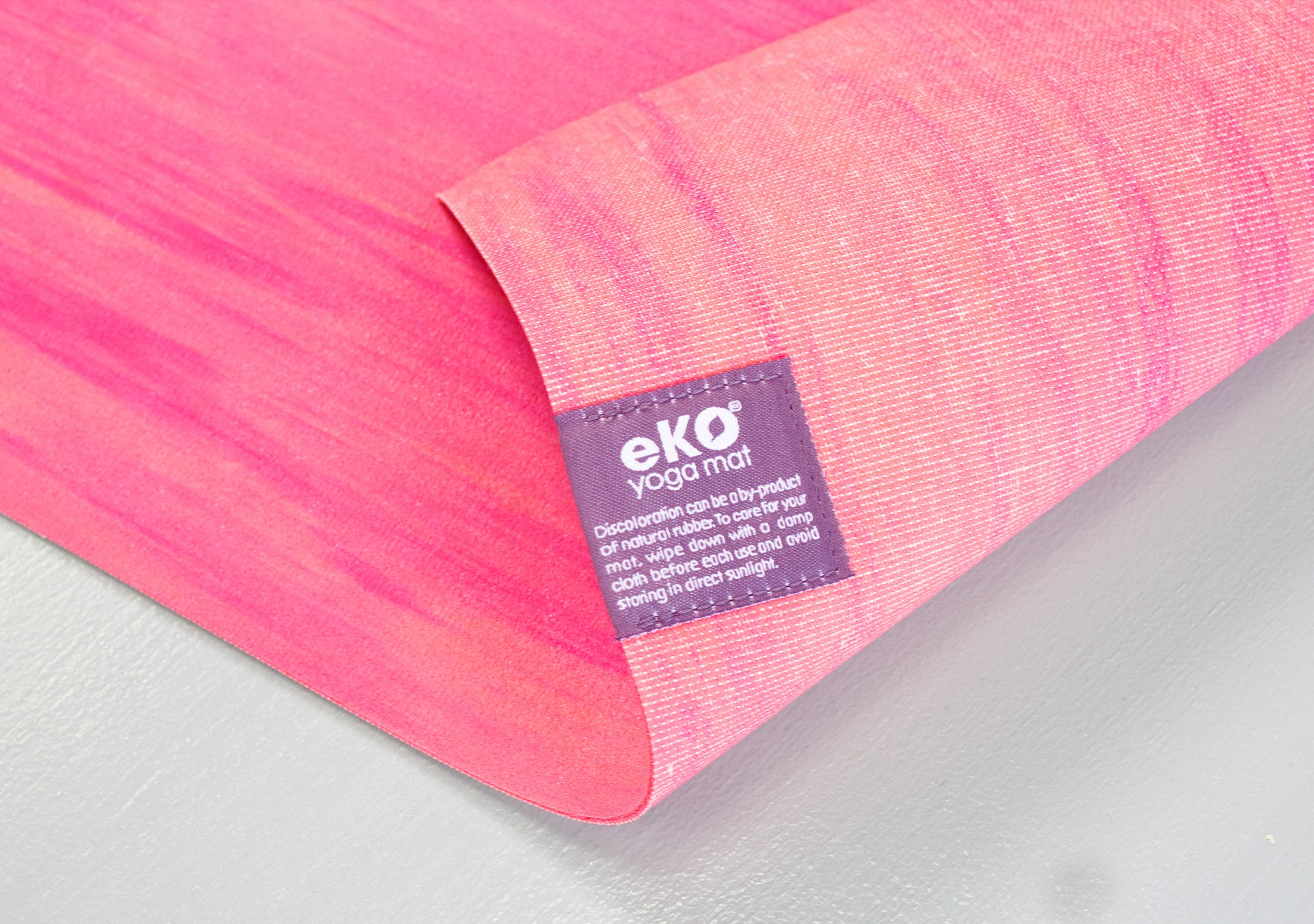 Manduka eKO SuperLite Yoga Mat Tag