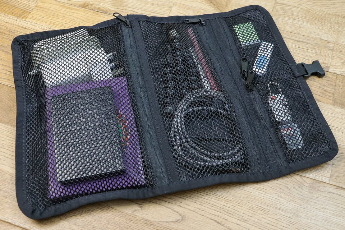Mission Workshop Internal Tool Roll Full With Items